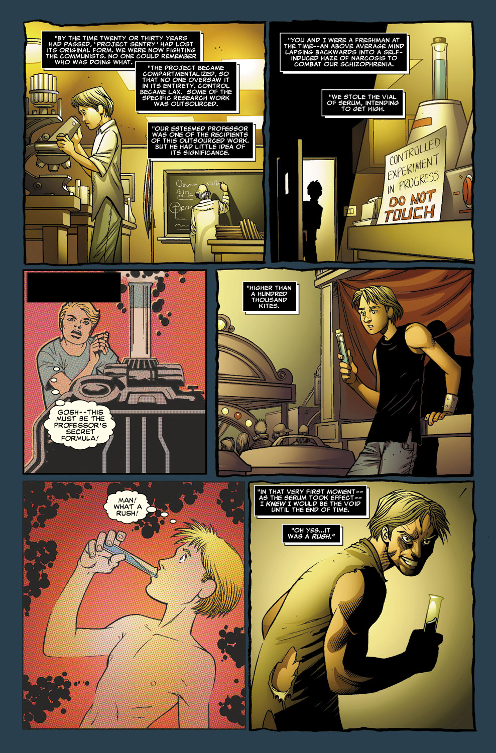 Read online Sentry (2006) comic -  Issue #8 - 17