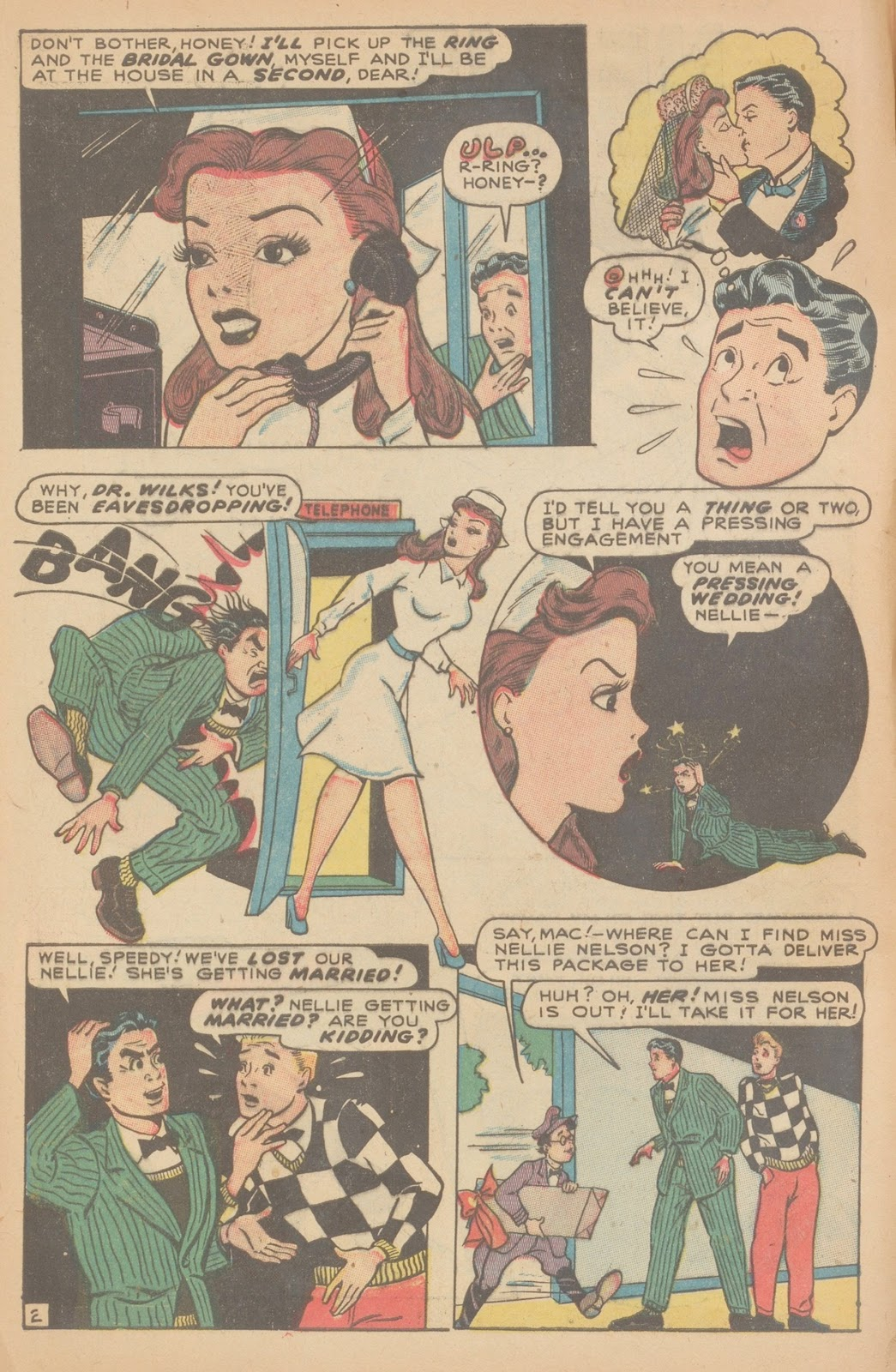 Read online Nellie The Nurse (1945) comic -  Issue #11 - 4