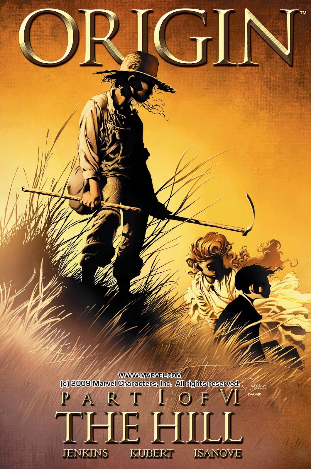 Wolverine: The Origin 1 Page 1
