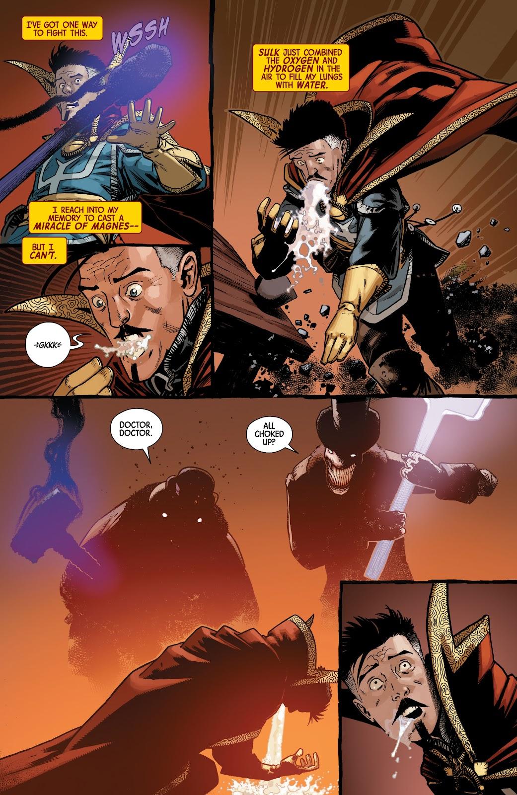 Read online Dr. Strange comic -  Issue #5 - 5