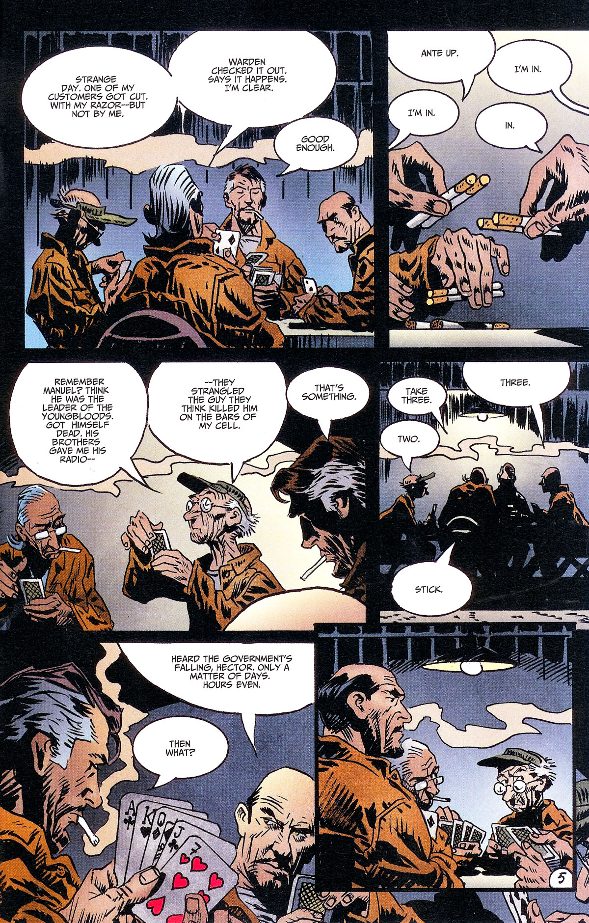 Read online Solo (2004) comic -  Issue #6 - 24