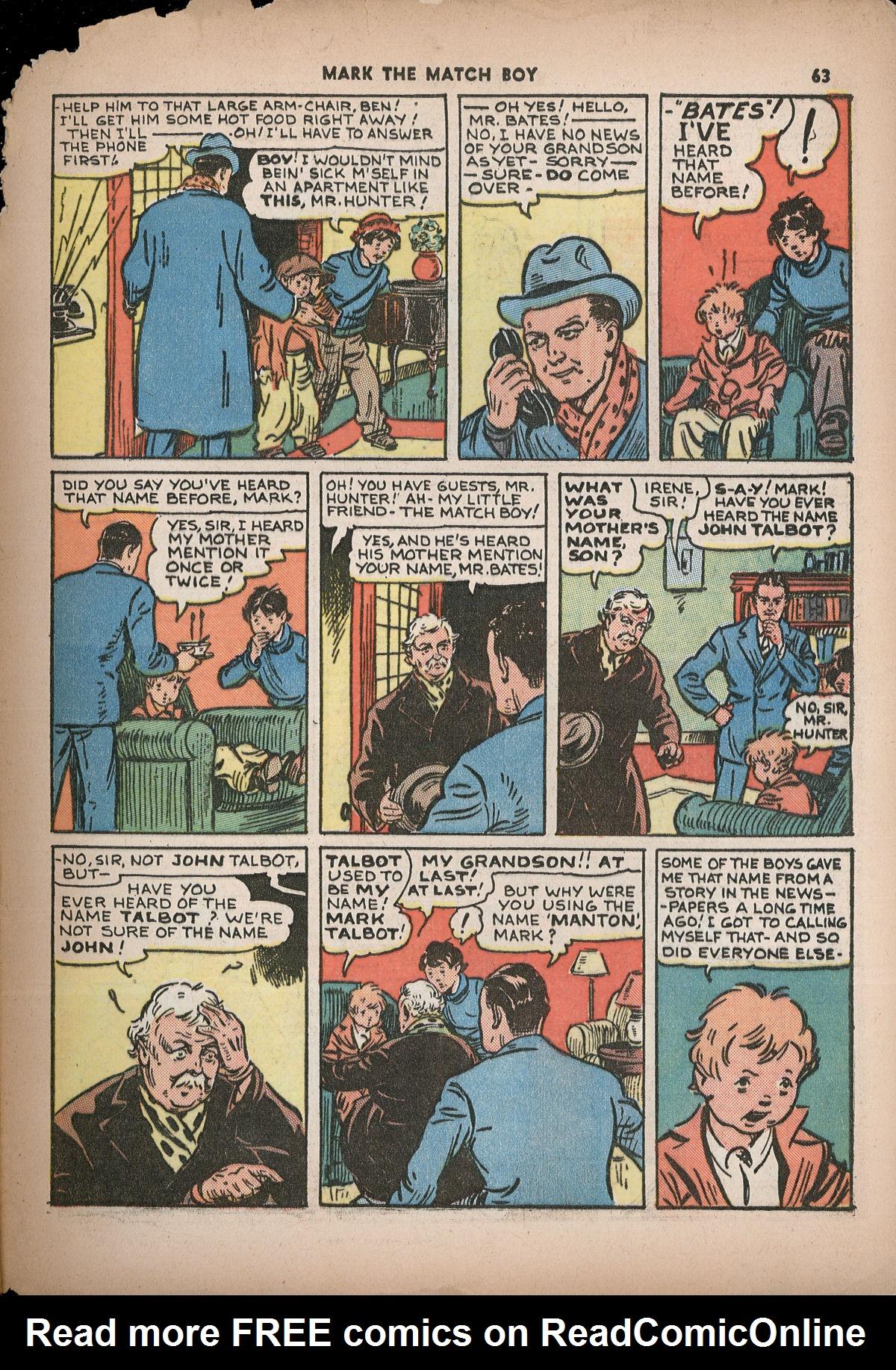 Read online Shadow Comics comic -  Issue #2 - 66
