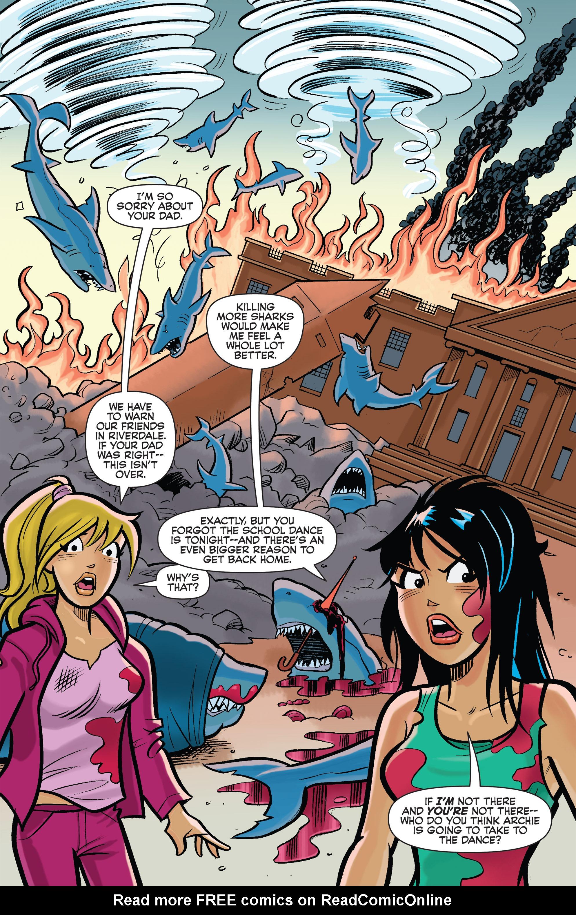 Read online Archie vs. Sharknado comic -  Issue #Archie vs. Sharknado Full - 12