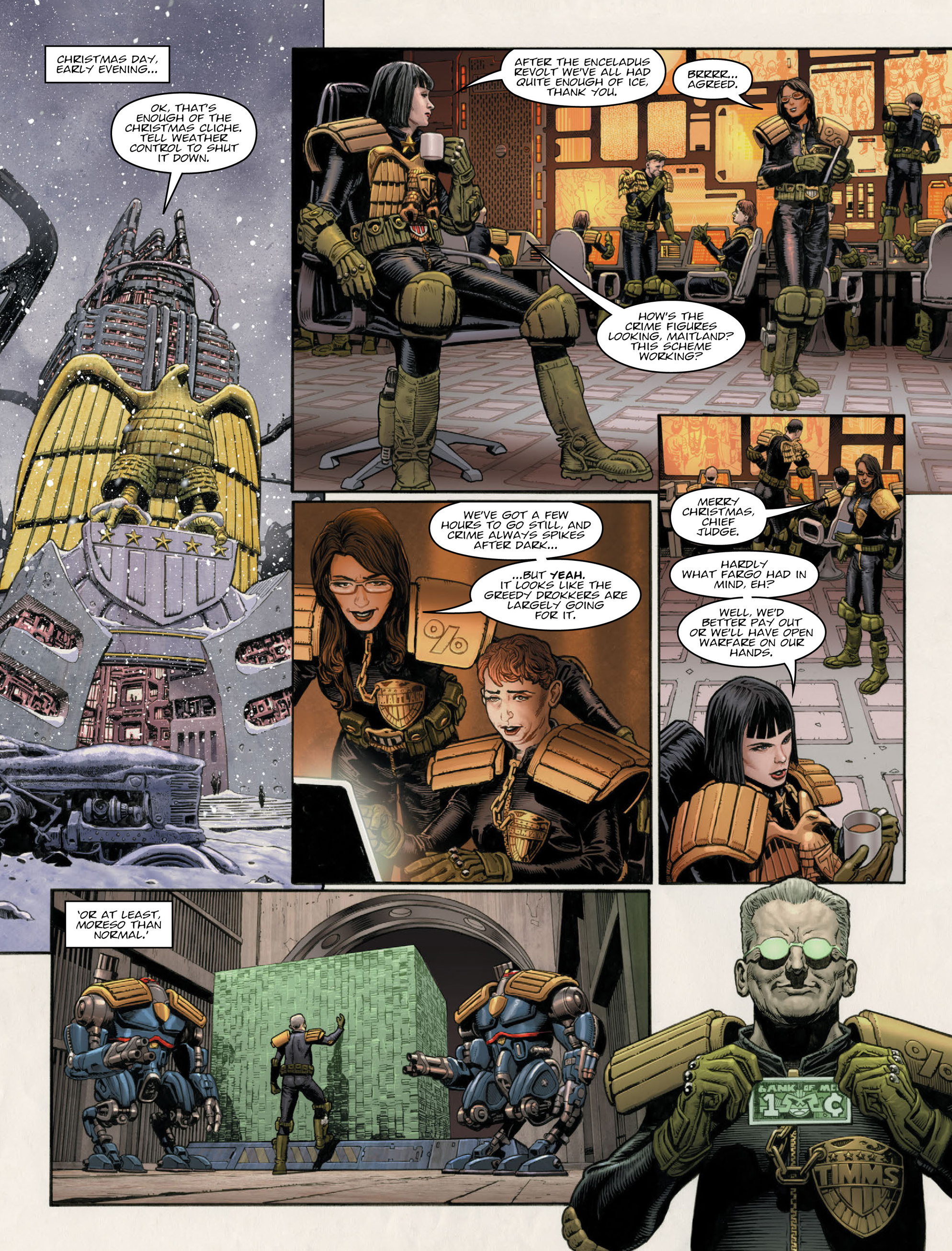 Read online 2000 AD comic -  Issue #2011 - 8