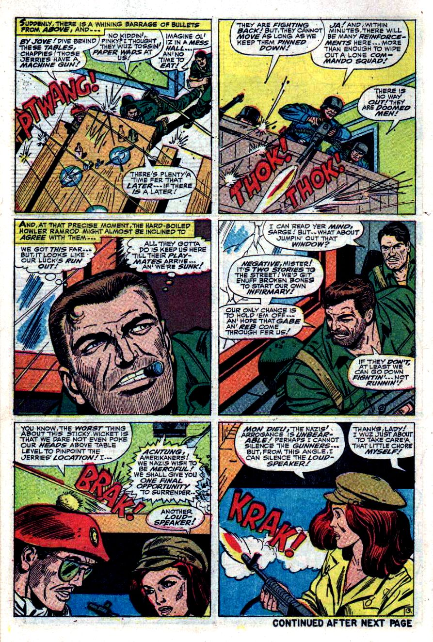 Read online Sgt. Fury comic -  Issue #40 - 18