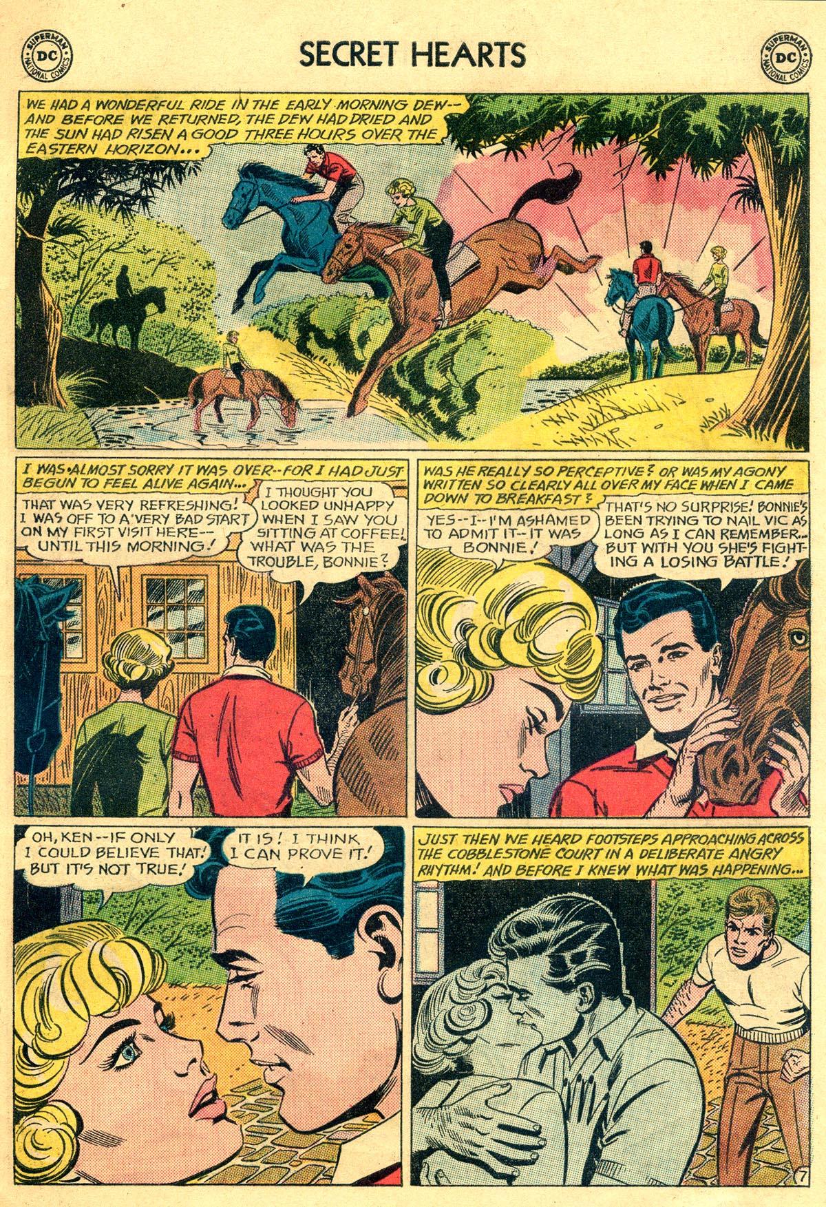 Read online Secret Hearts comic -  Issue #81 - 9
