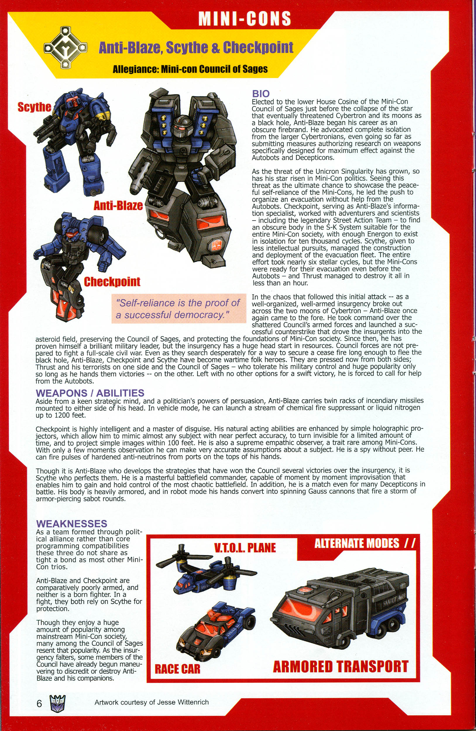 Read online Transformers: Collectors' Club comic -  Issue #11 - 6