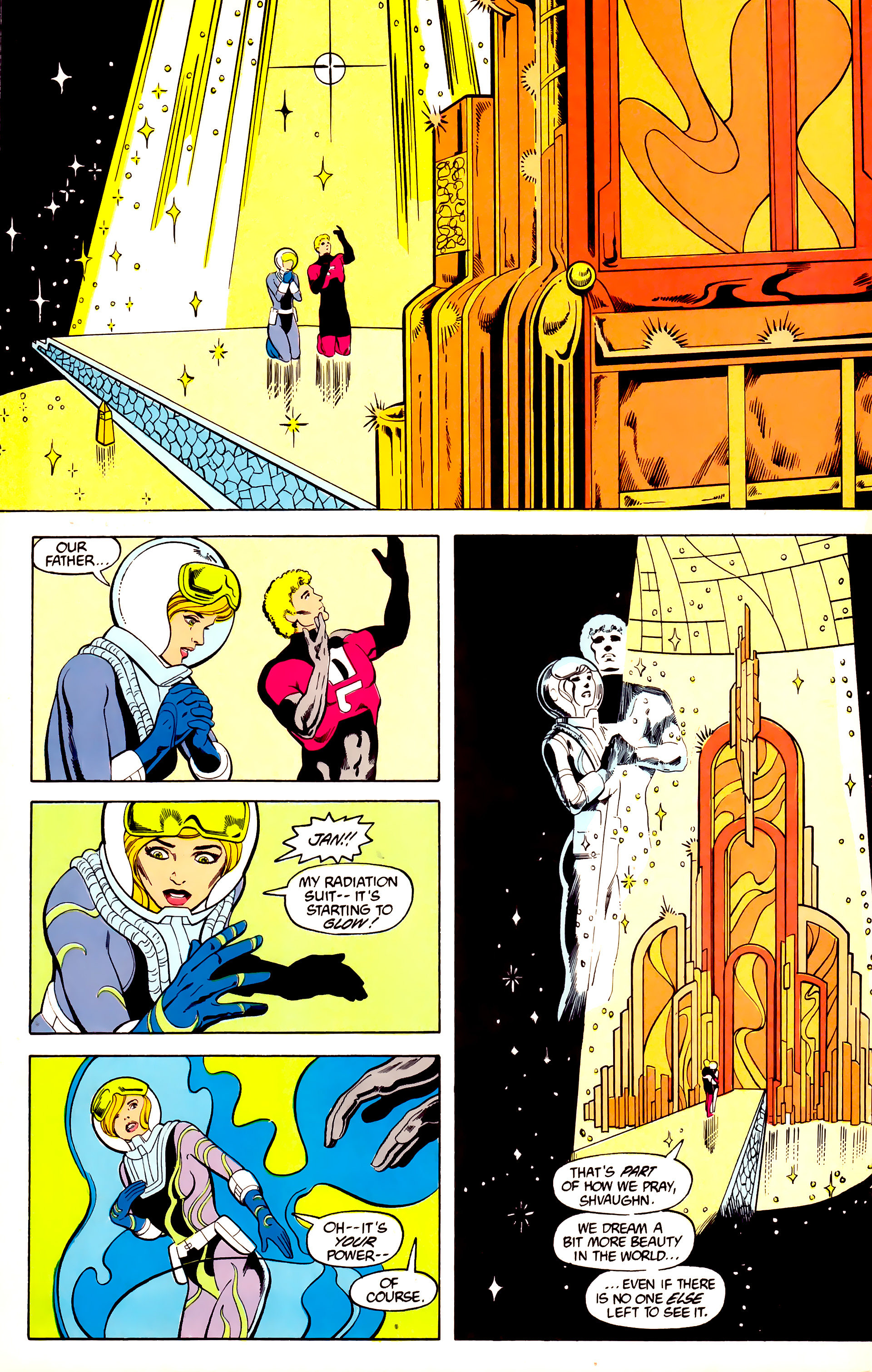 Legion of Super-Heroes (1984) 27 Page 11