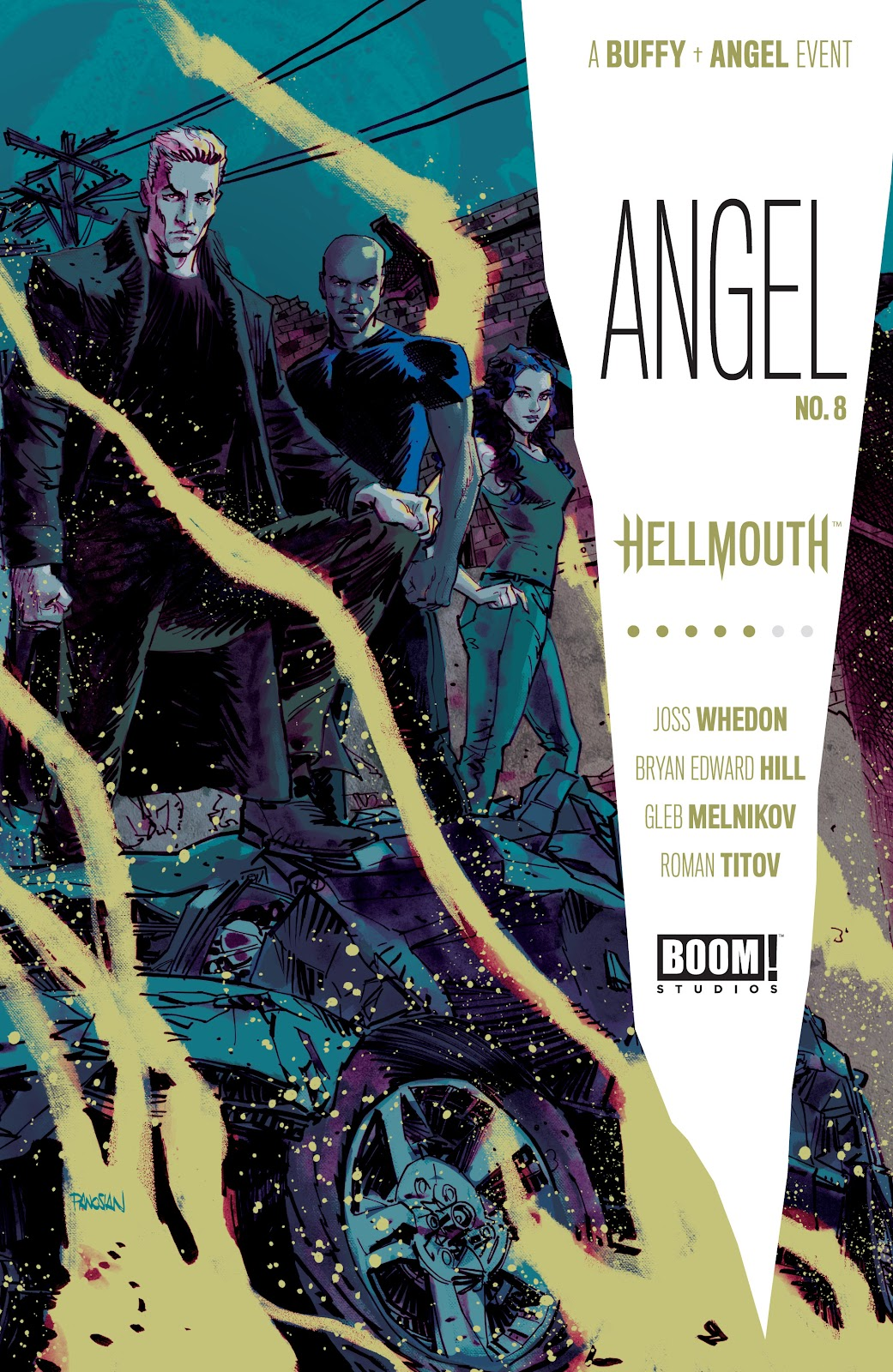 Read online Angel (2019) comic -  Issue #8 - 1