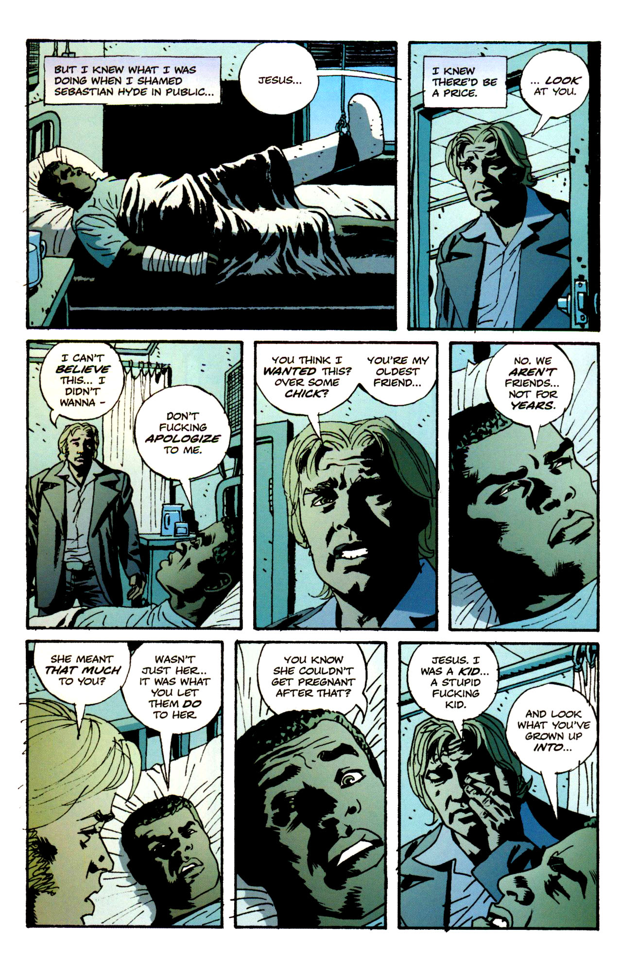 Read online Criminal (2008) comic -  Issue #1 - 31