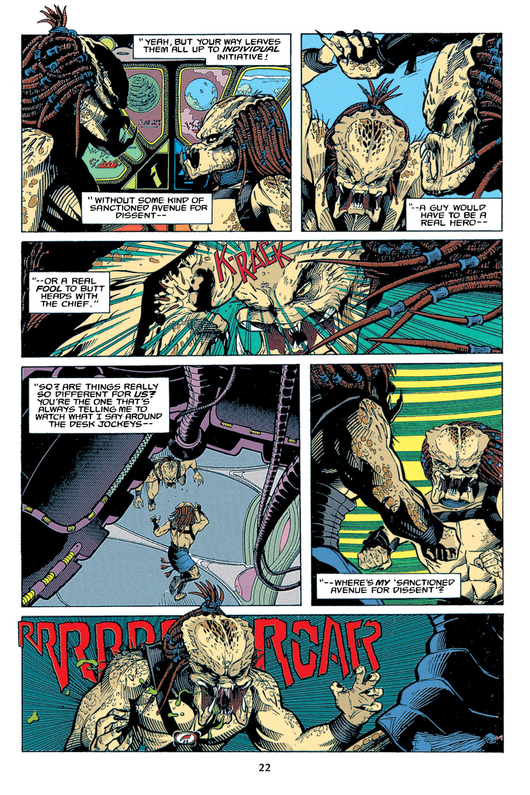 Read online Aliens vs. Predator Omnibus comic -  Issue # _TPB 1 Part 1 - 22