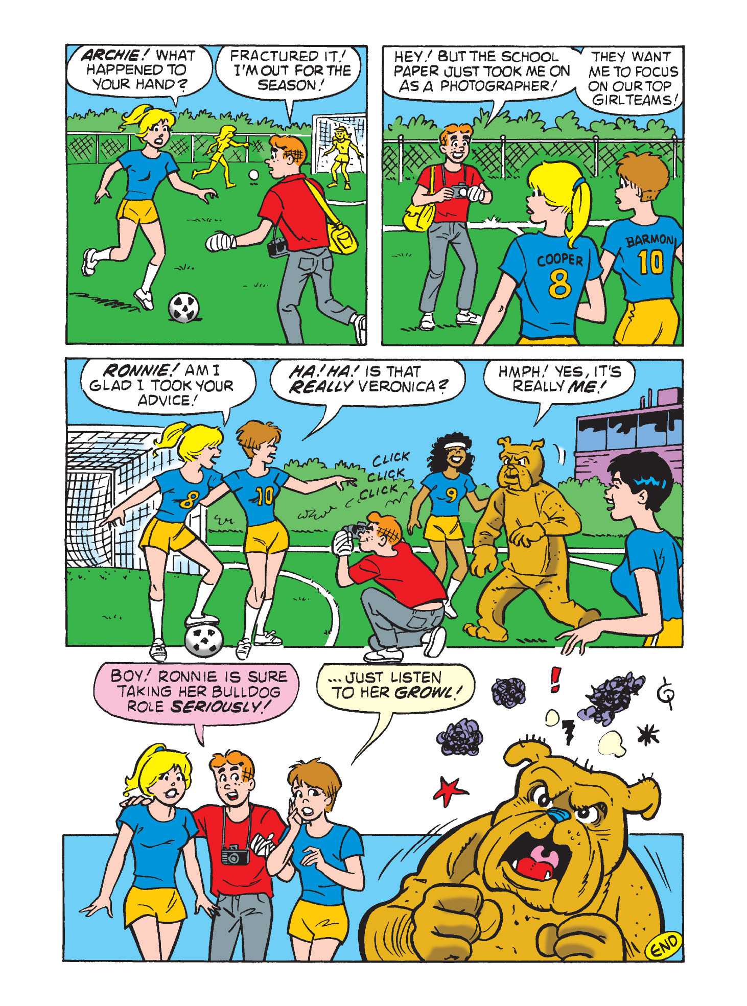 Read online Archie's Funhouse Double Digest comic -  Issue #9 - 11