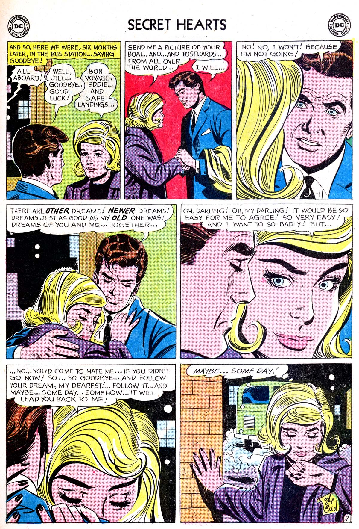 Read online Secret Hearts comic -  Issue #87 - 17