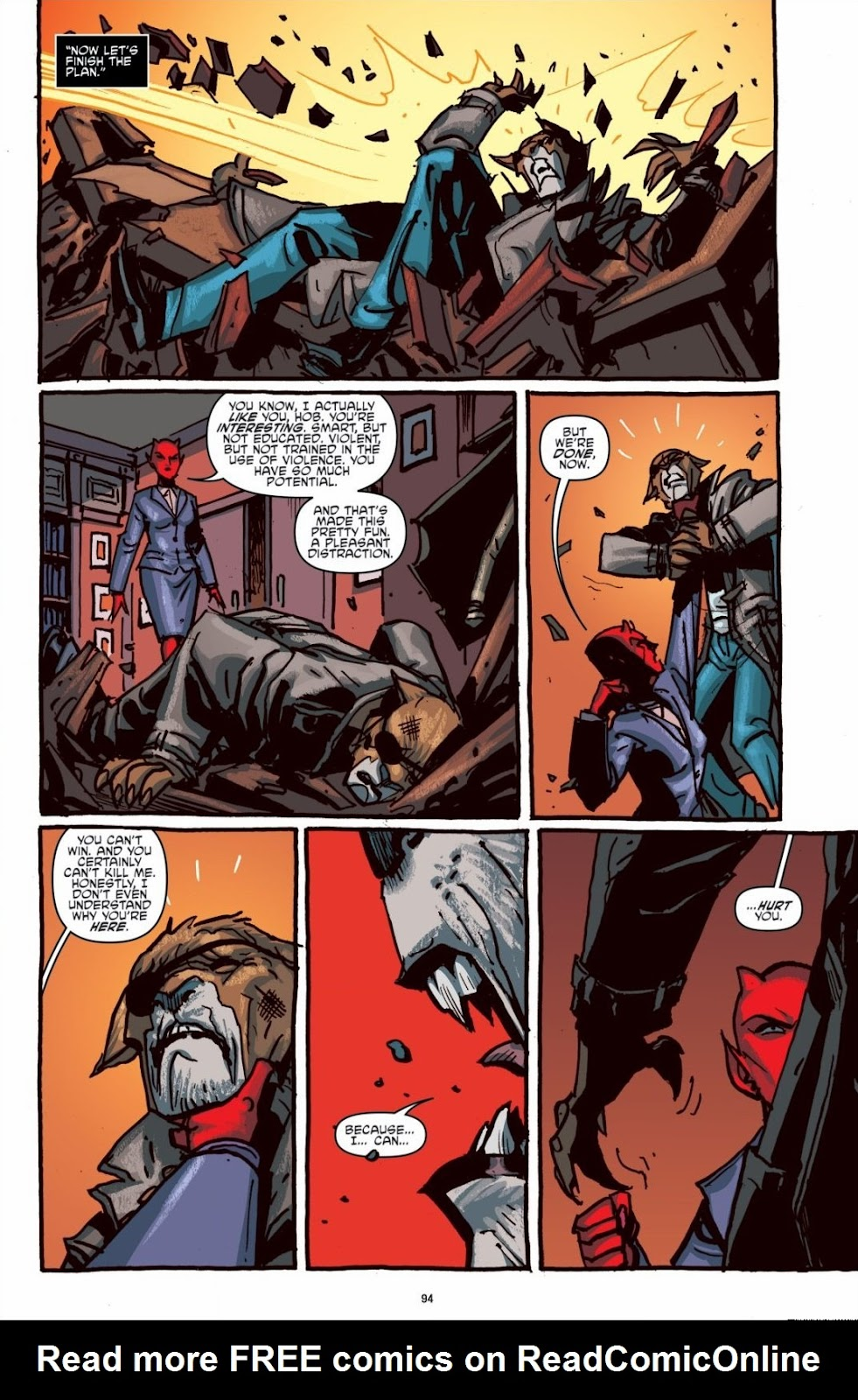 Read online Teenage Mutant Ninja Turtles: The IDW Collection comic -  Issue # TPB 6 (Part 1) - 93