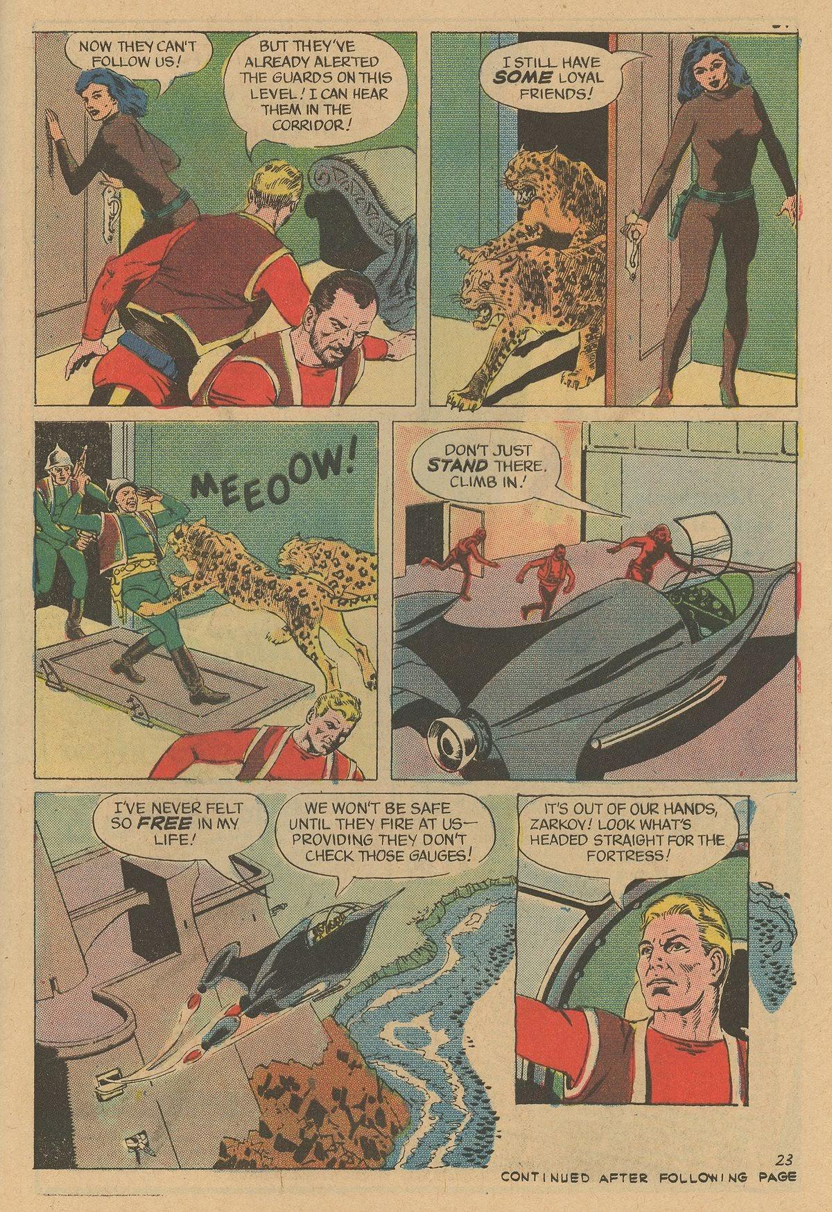 Flash Gordon (1969) issue 12 - Page 29