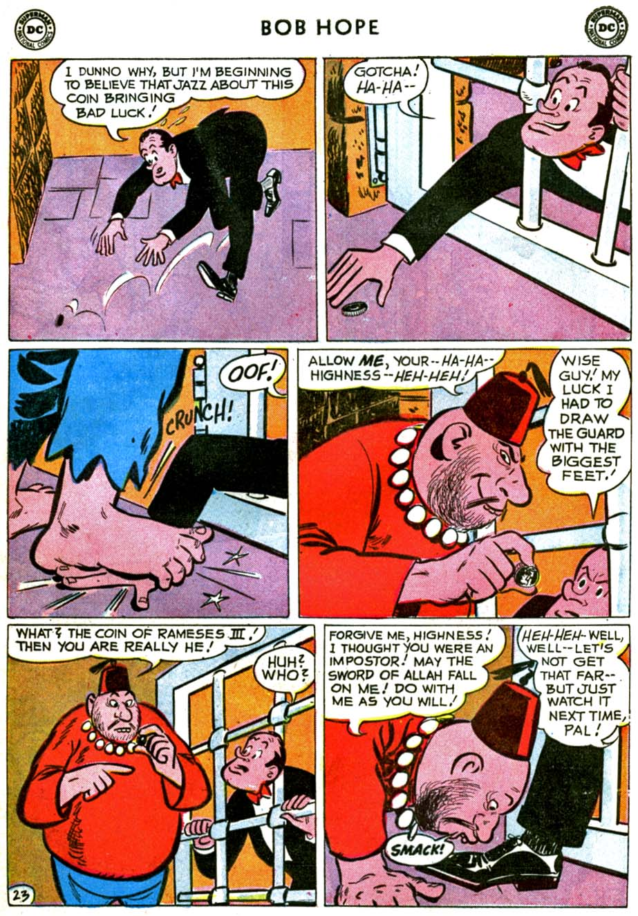 The Adventures of Bob Hope issue 71 - Page 29