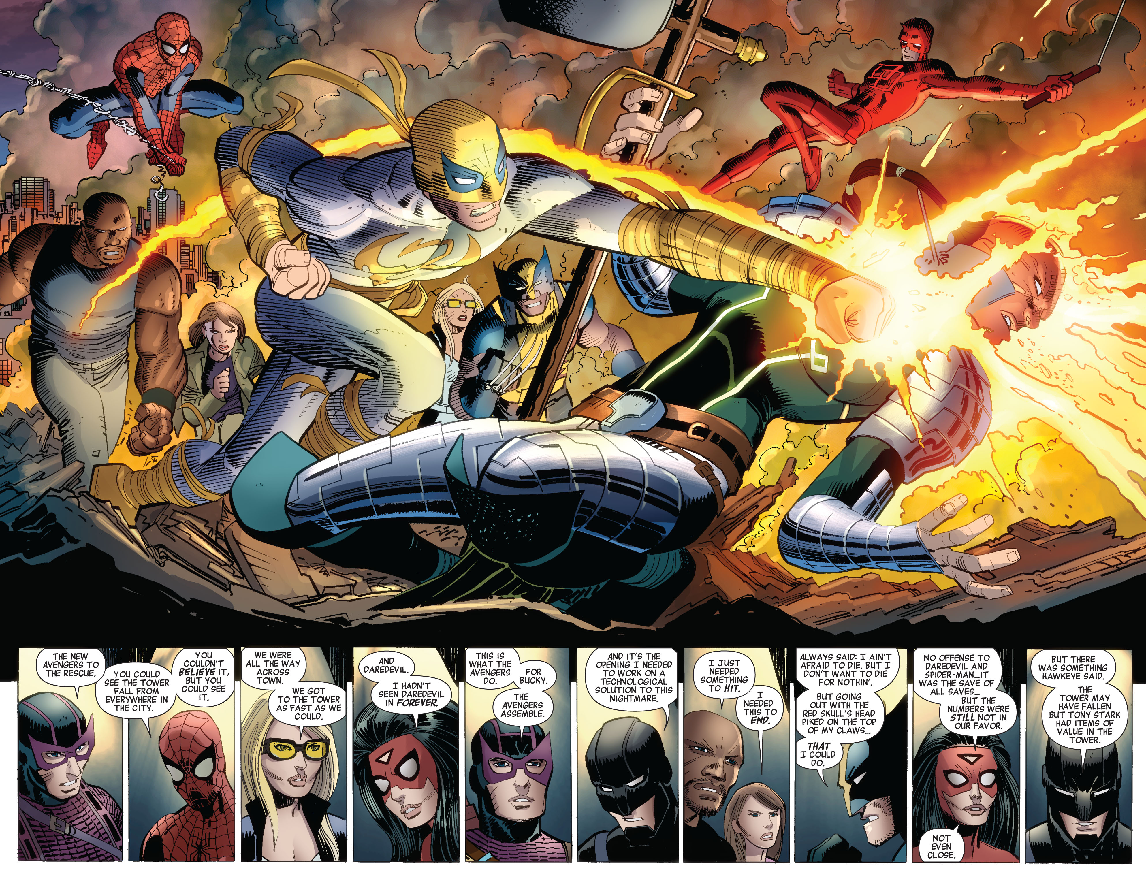 Read online Avengers (2010) comic -  Issue #17 - 12