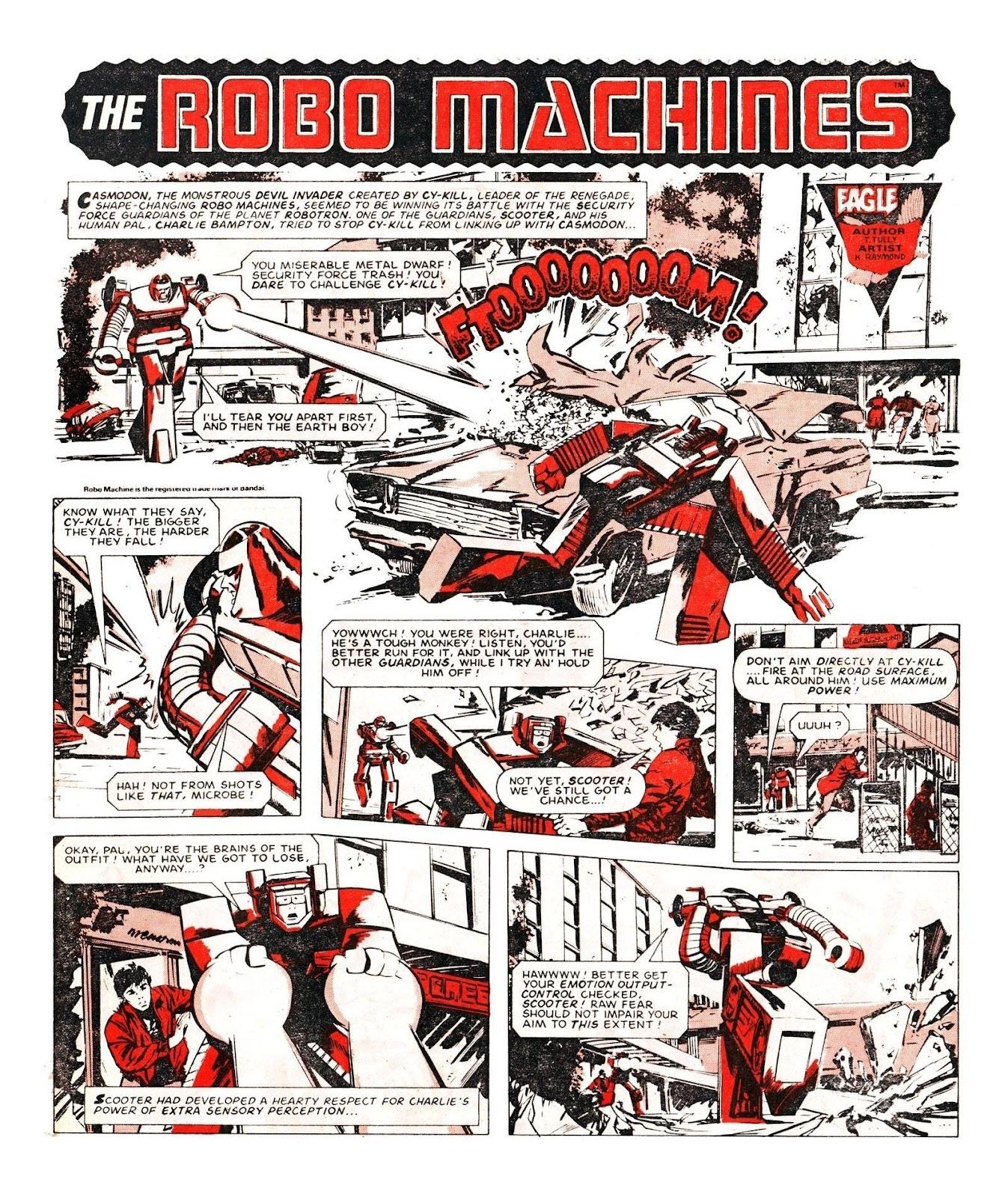 Read online Robo Machines comic -  Issue # TPB - 106