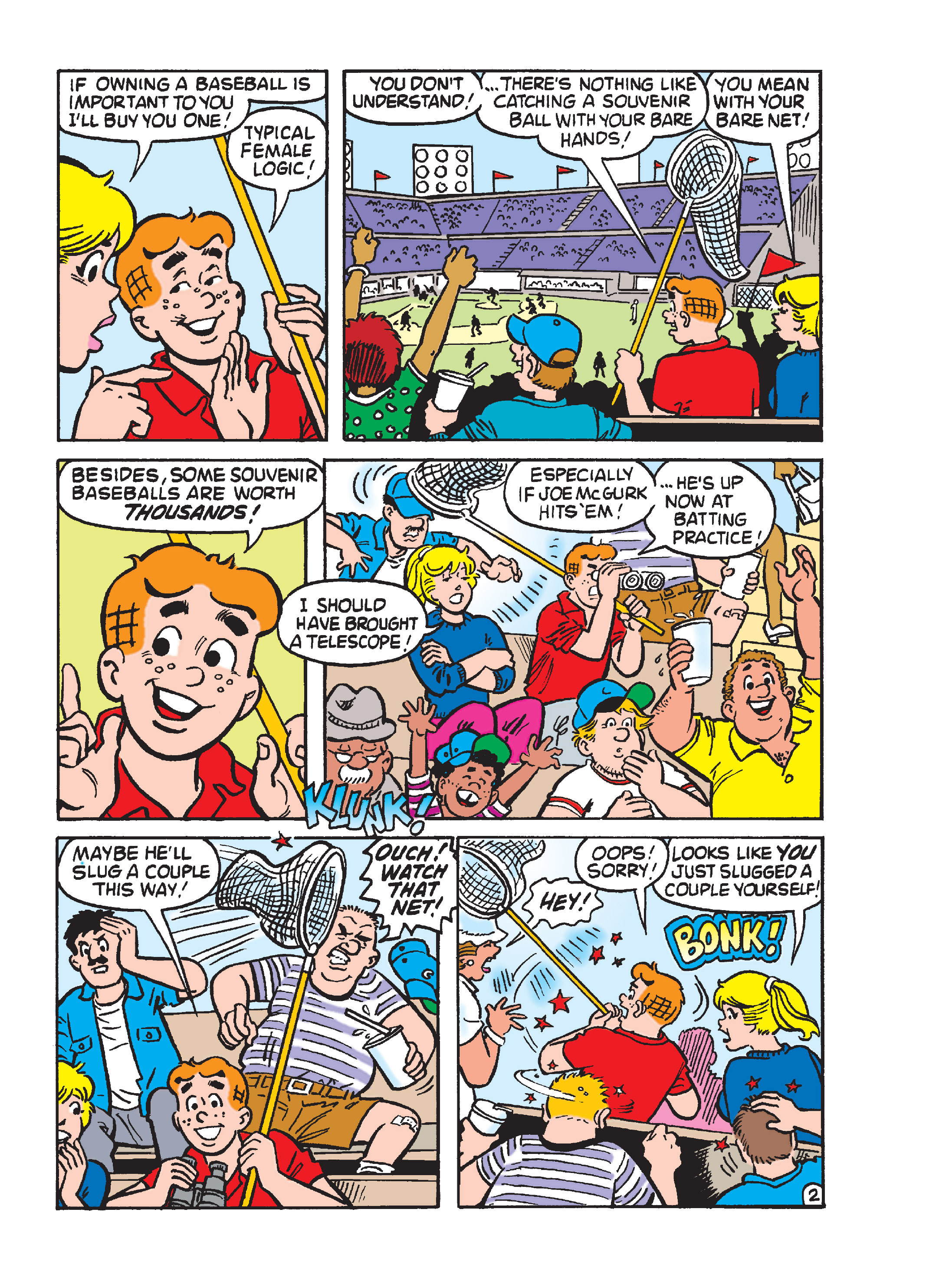 Read online Archie's Funhouse Double Digest comic -  Issue #15 - 210