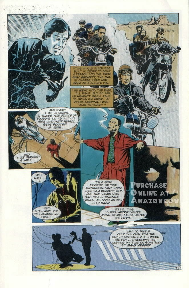 Read online Quantum Leap comic -  Issue #8 - 6