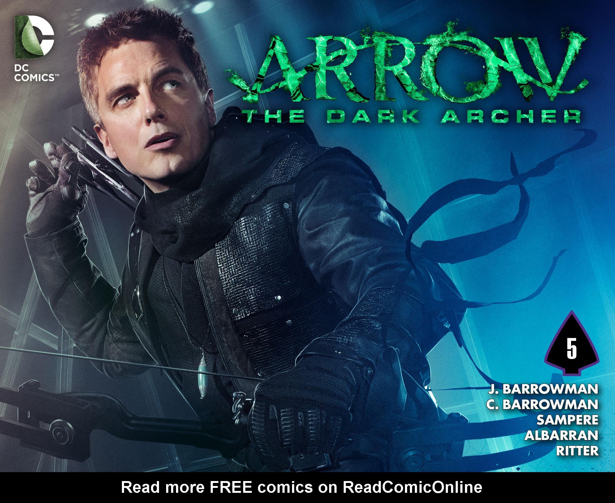 Read online Arrow: The Dark Archer comic -  Issue #5 - 1