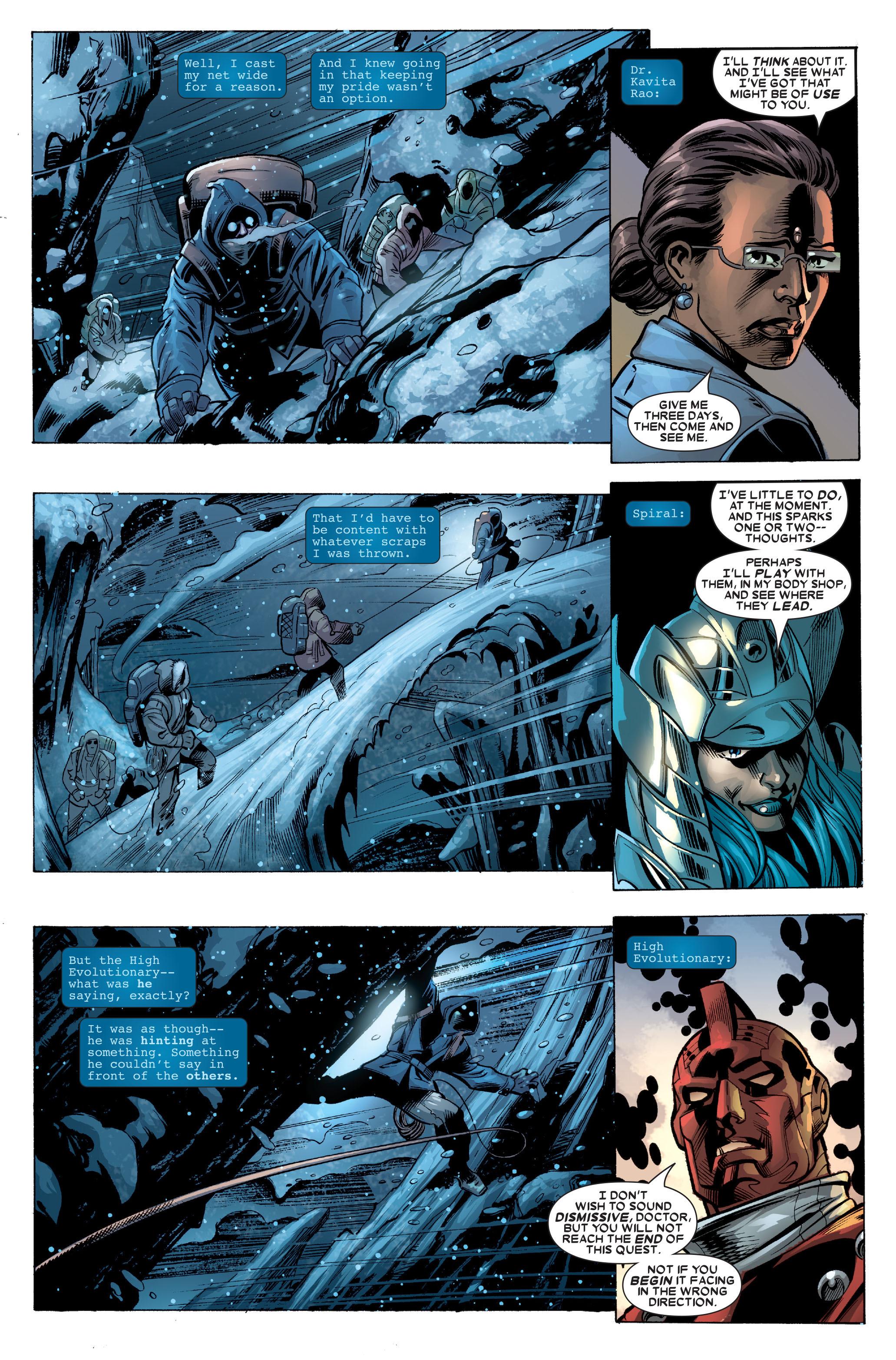 Read online Uncanny X-Men (1963) comic -  Issue #488 - 29