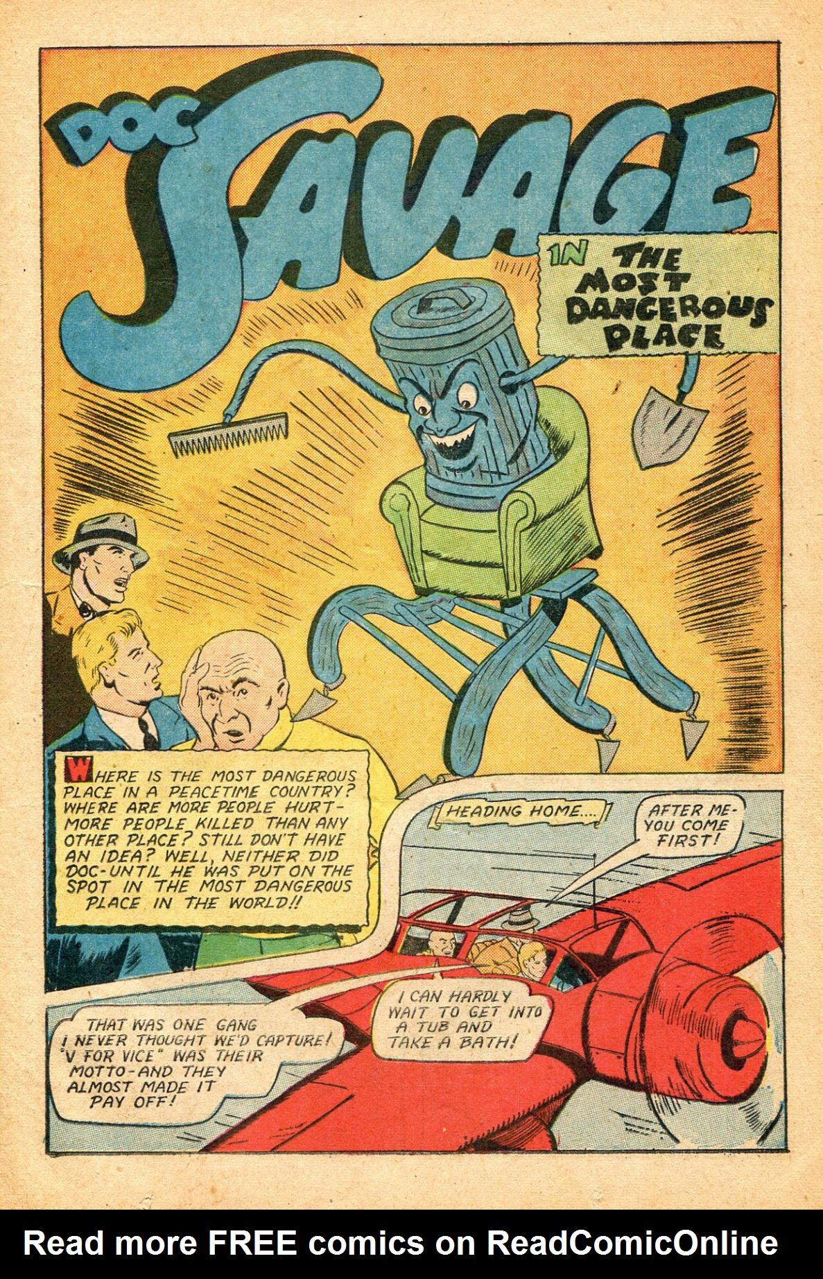 Read online Shadow Comics comic -  Issue #51 - 18