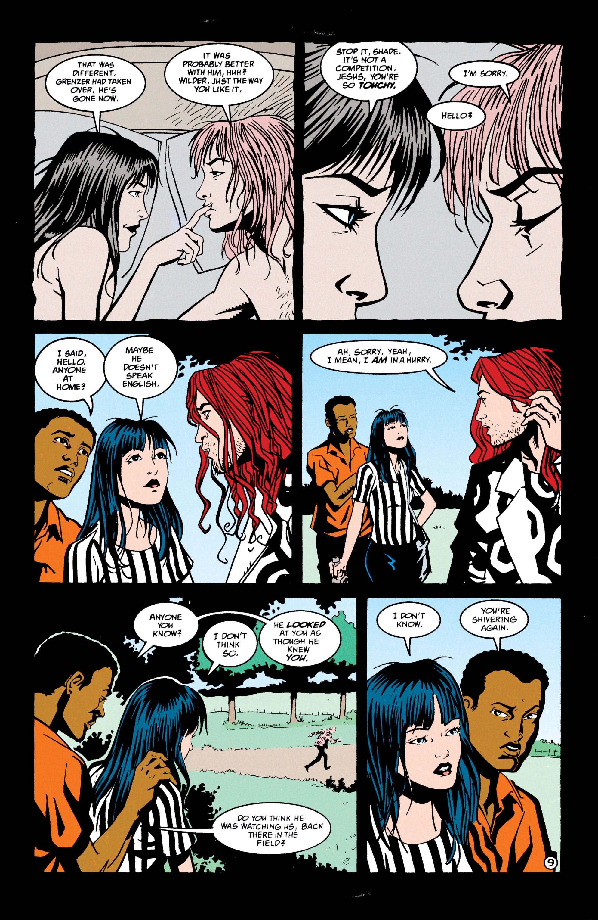 Read online Shade, the Changing Man comic -  Issue #69 - 10