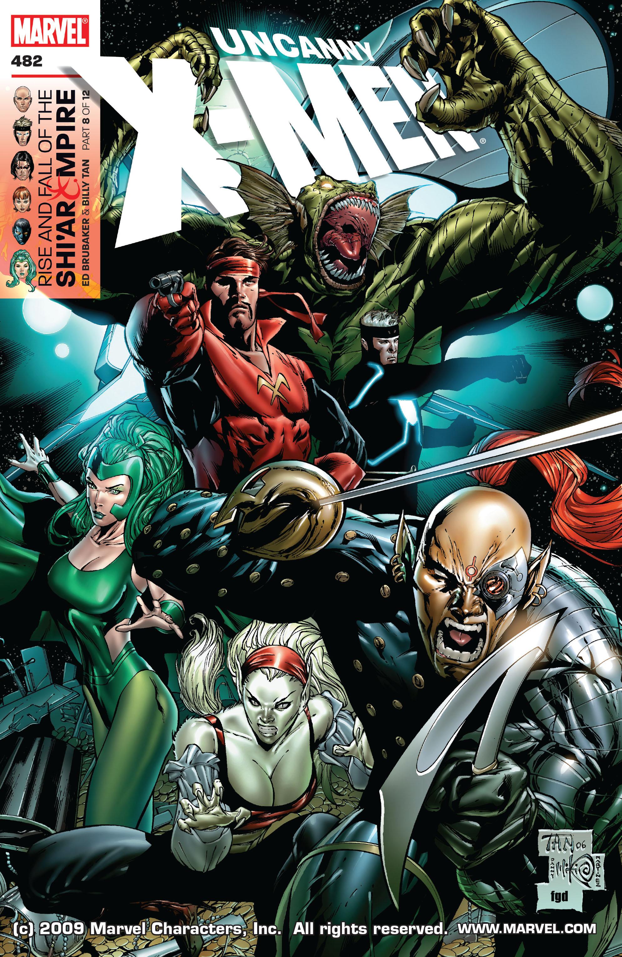 Uncanny X-Men (1963) 482 Page 1
