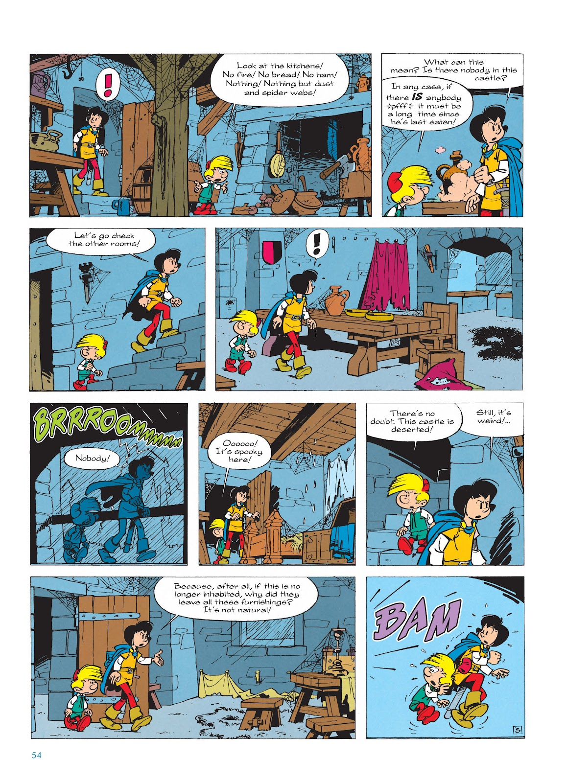 Read online The Smurfs comic -  Issue #17 - 54
