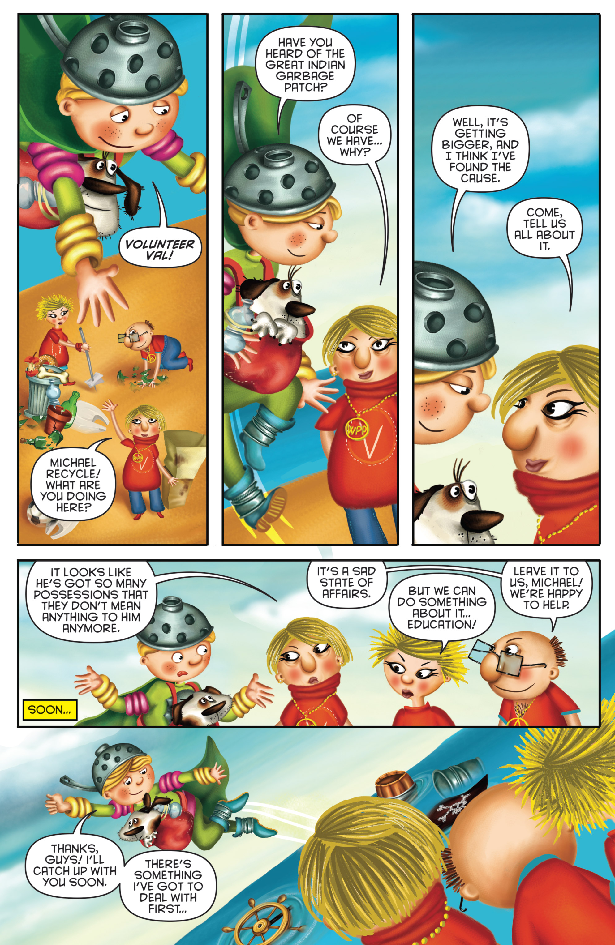 Read online Michael Recycle comic -  Issue #4 - 10