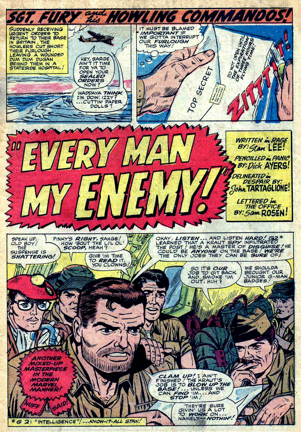 Read online Sgt. Fury comic -  Issue #25 - 3