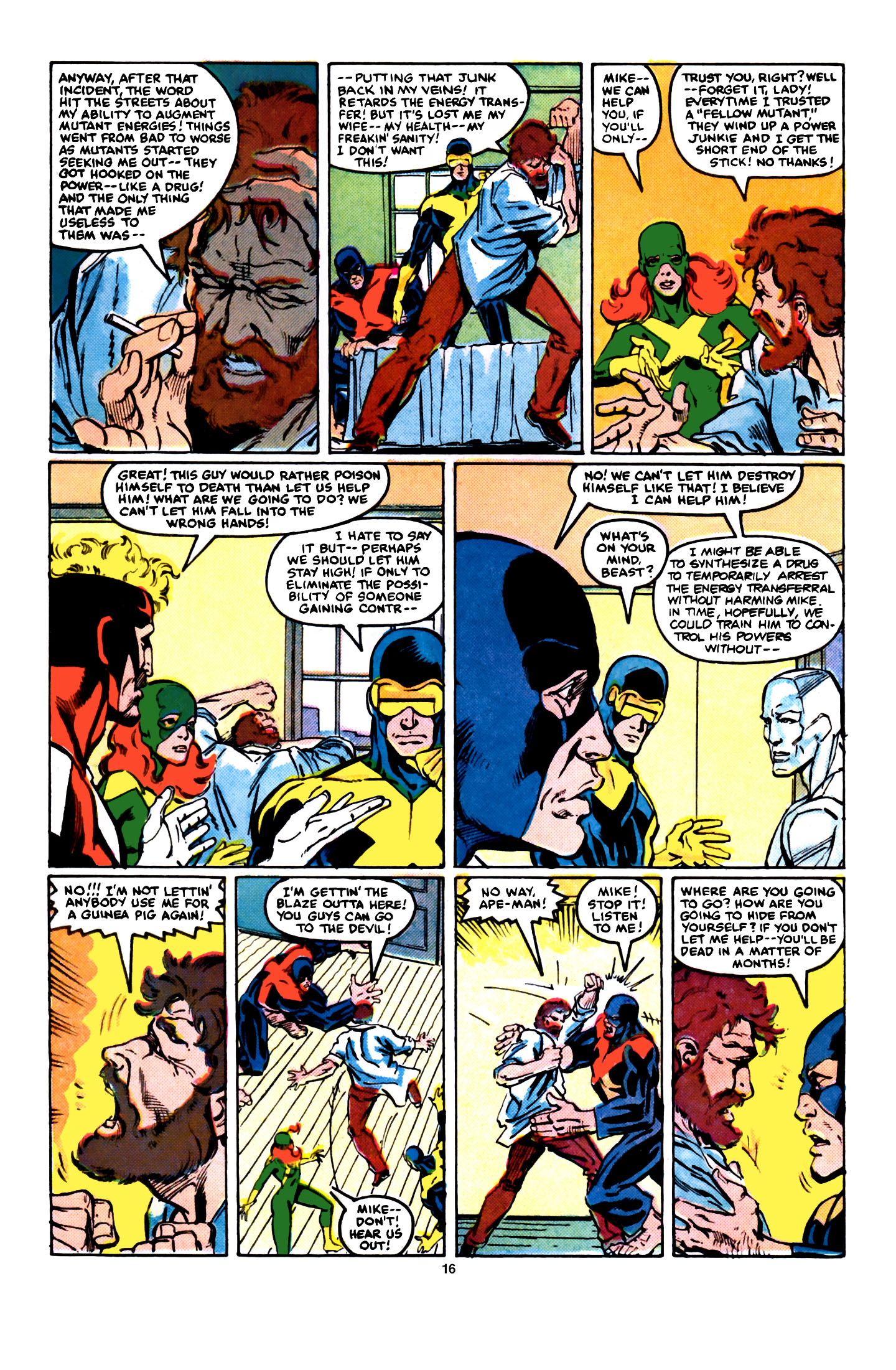 Read online X-Factor (1986) comic -  Issue #5 - 17