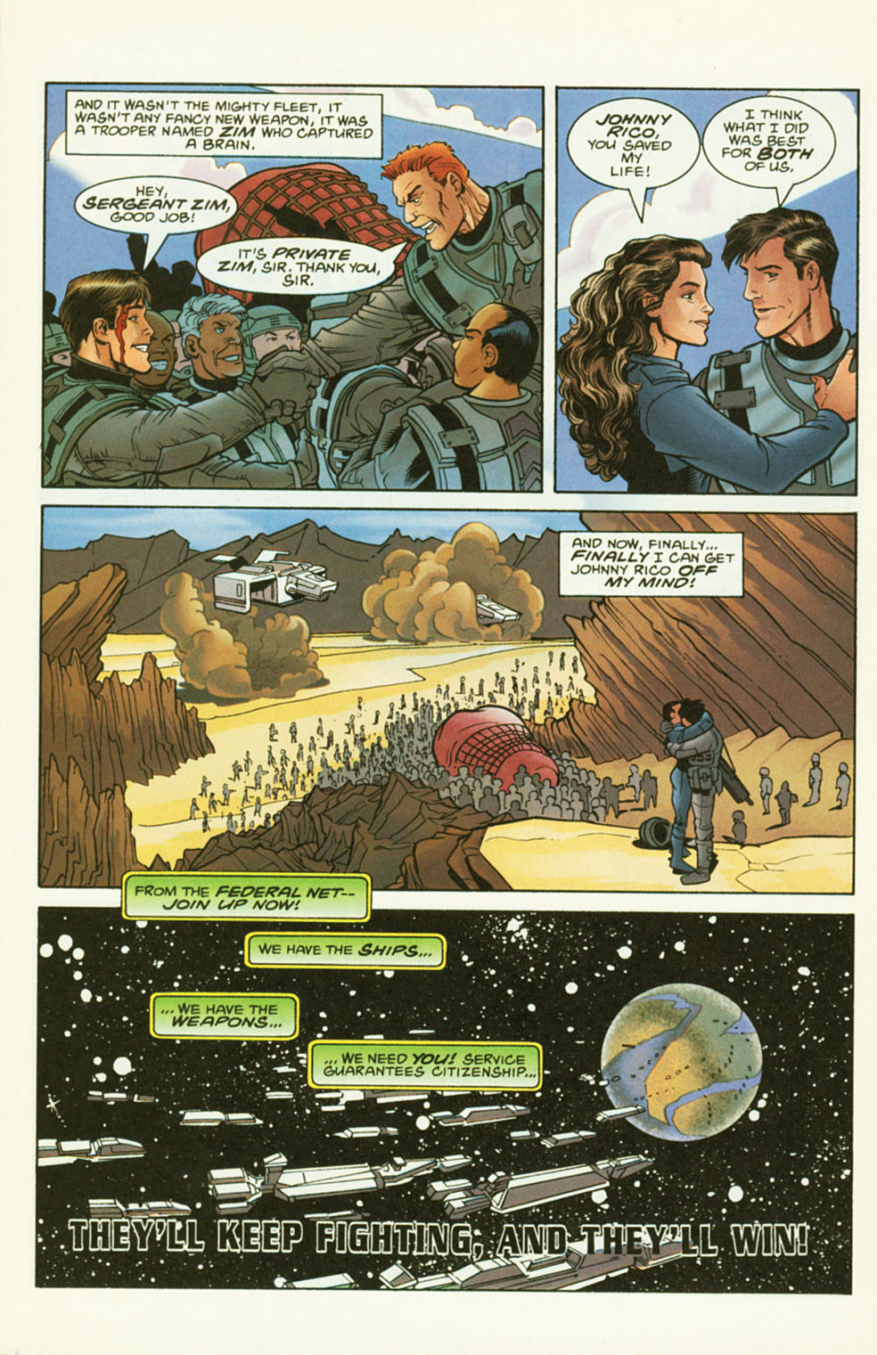 Read online Starship Troopers comic -  Issue #2 - 24