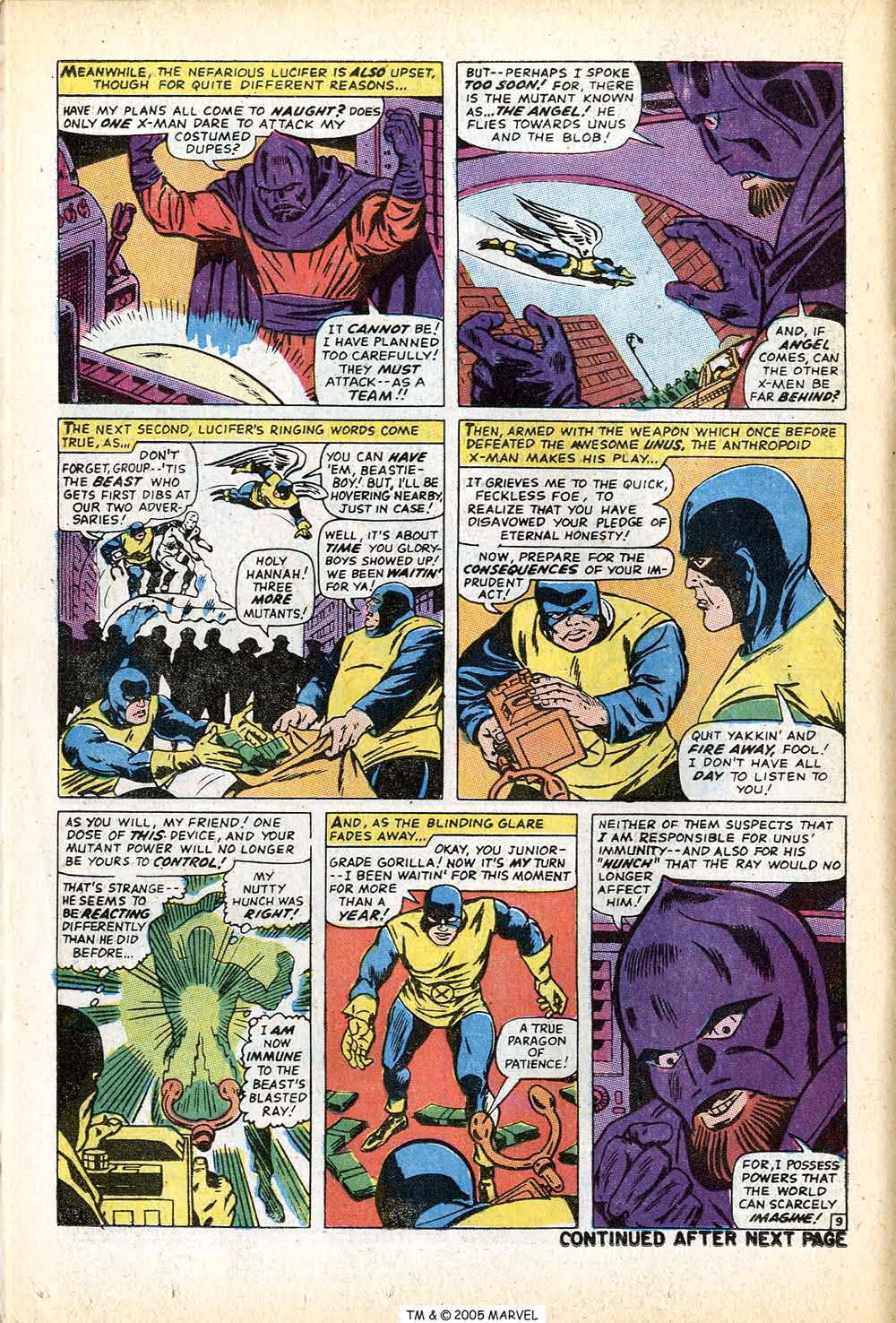 Read online Uncanny X-Men (1963) comic -  Issue #71 - 14