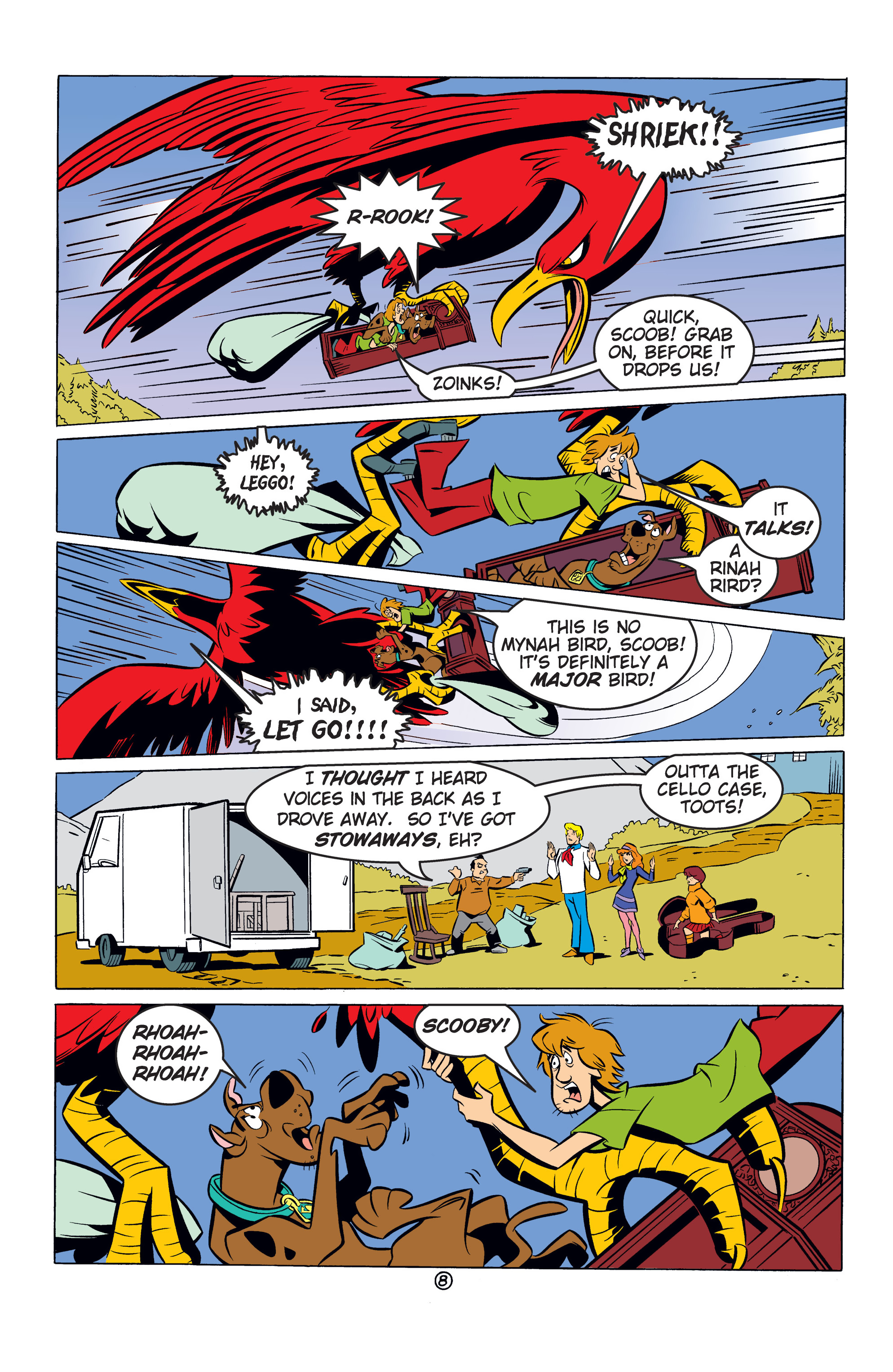 Read online Scooby-Doo: Where Are You? comic -  Issue #53 - 19