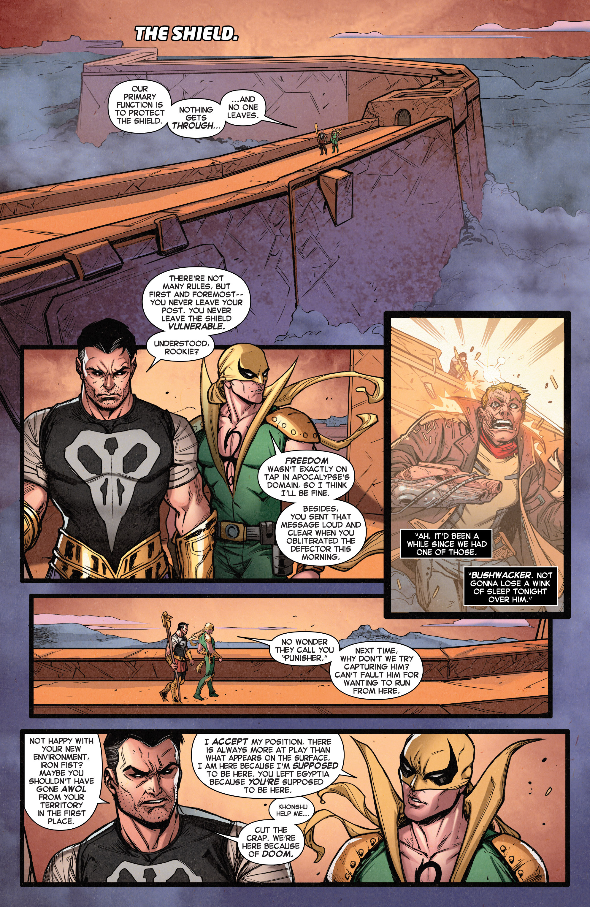Read online Secret Wars Journal/Battleworld comic -  Issue # TPB - 49