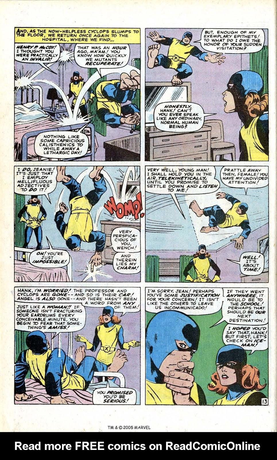 Uncanny X-Men (1963) issue 70 - Page 16