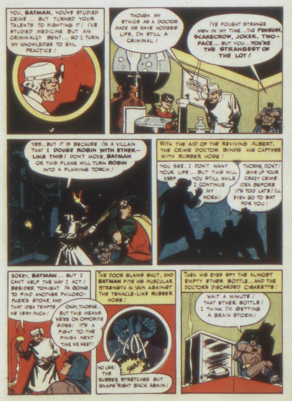 Read online Detective Comics (1937) comic -  Issue #77 - 11