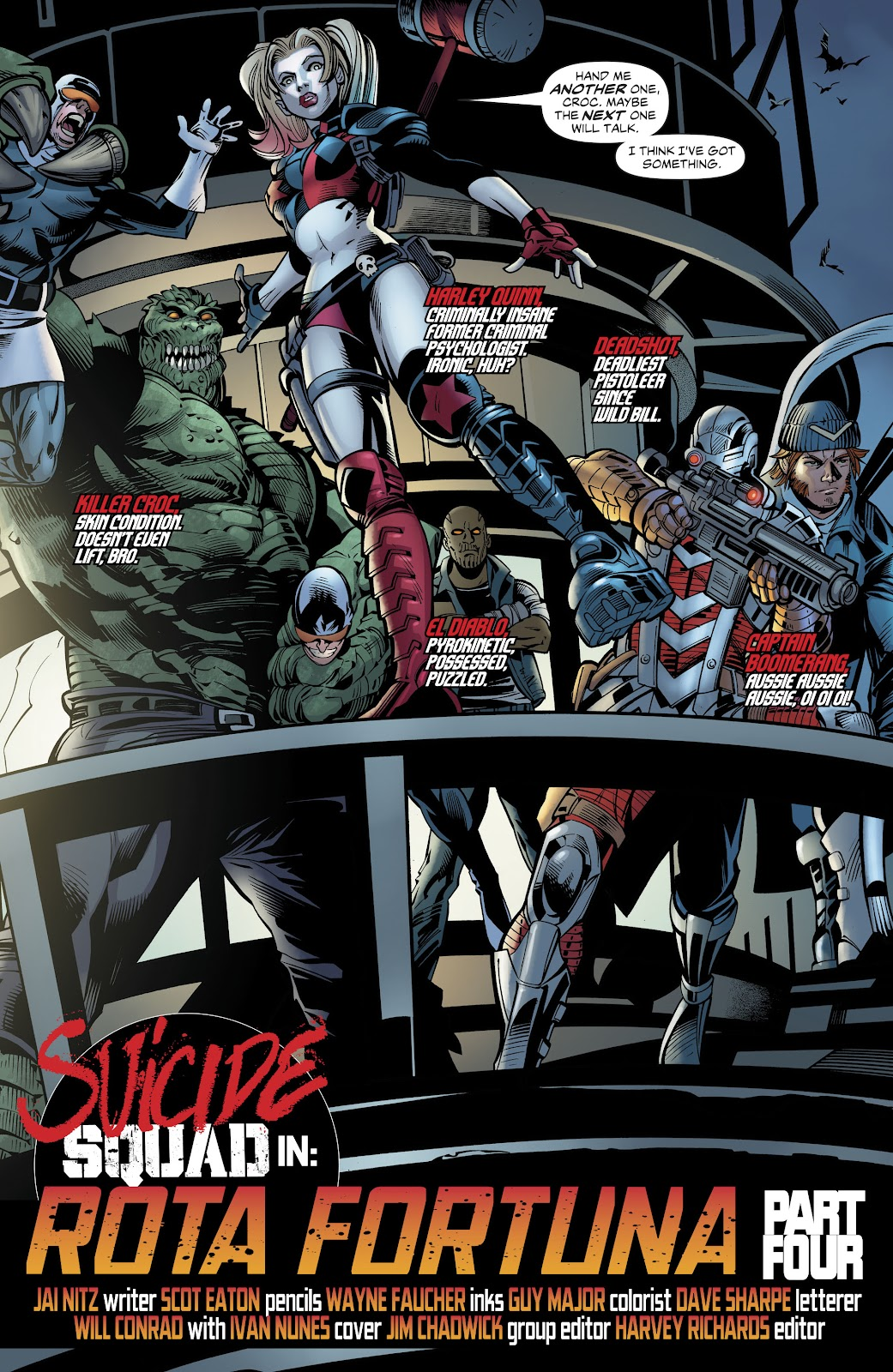 Read online Suicide Squad Black Files comic -  Issue #4 - 27