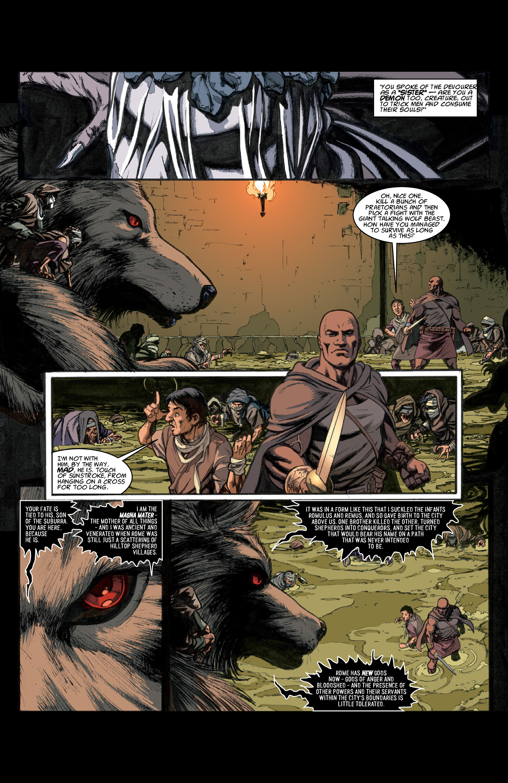 Read online Aquila comic -  Issue #3 - 15