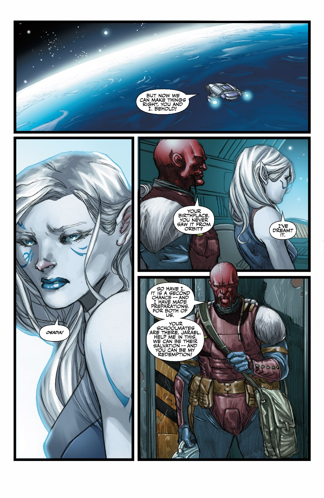Read online Star Wars Legends: The Old Republic - Epic Collection comic -  Issue # TPB 3 (Part 3) - 37