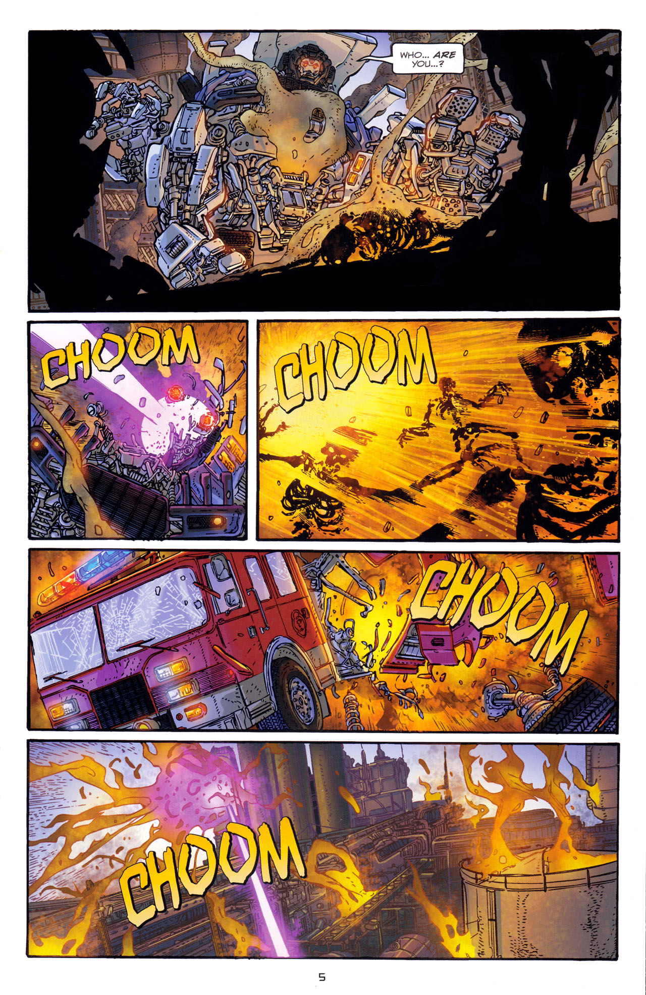 Read online Transformers: Dark of the Moon Rising Storm comic -  Issue #1 - 8