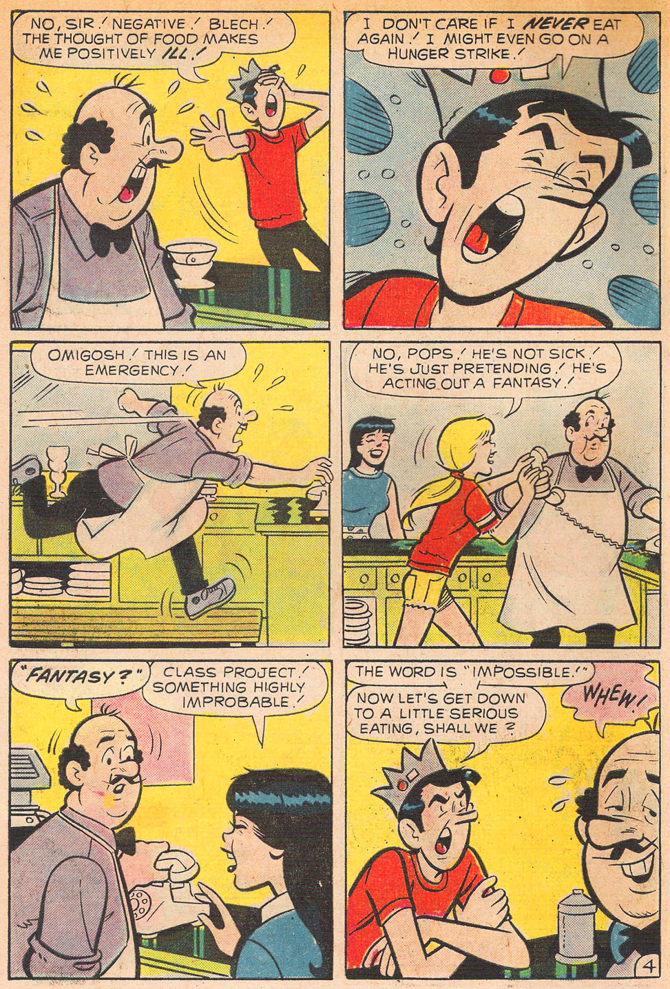 Read online Archie's Girls Betty and Veronica comic -  Issue #239 - 6