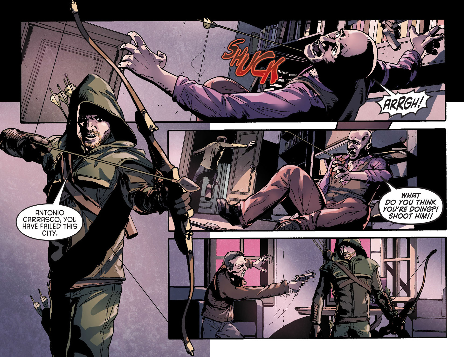 Read online Arrow [II] comic -  Issue #31 - 20
