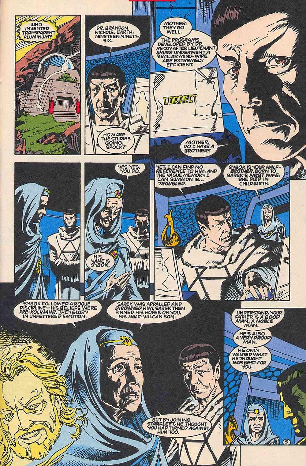 Read online Star Trek (1989) comic -  Issue # _Special 1 - 51
