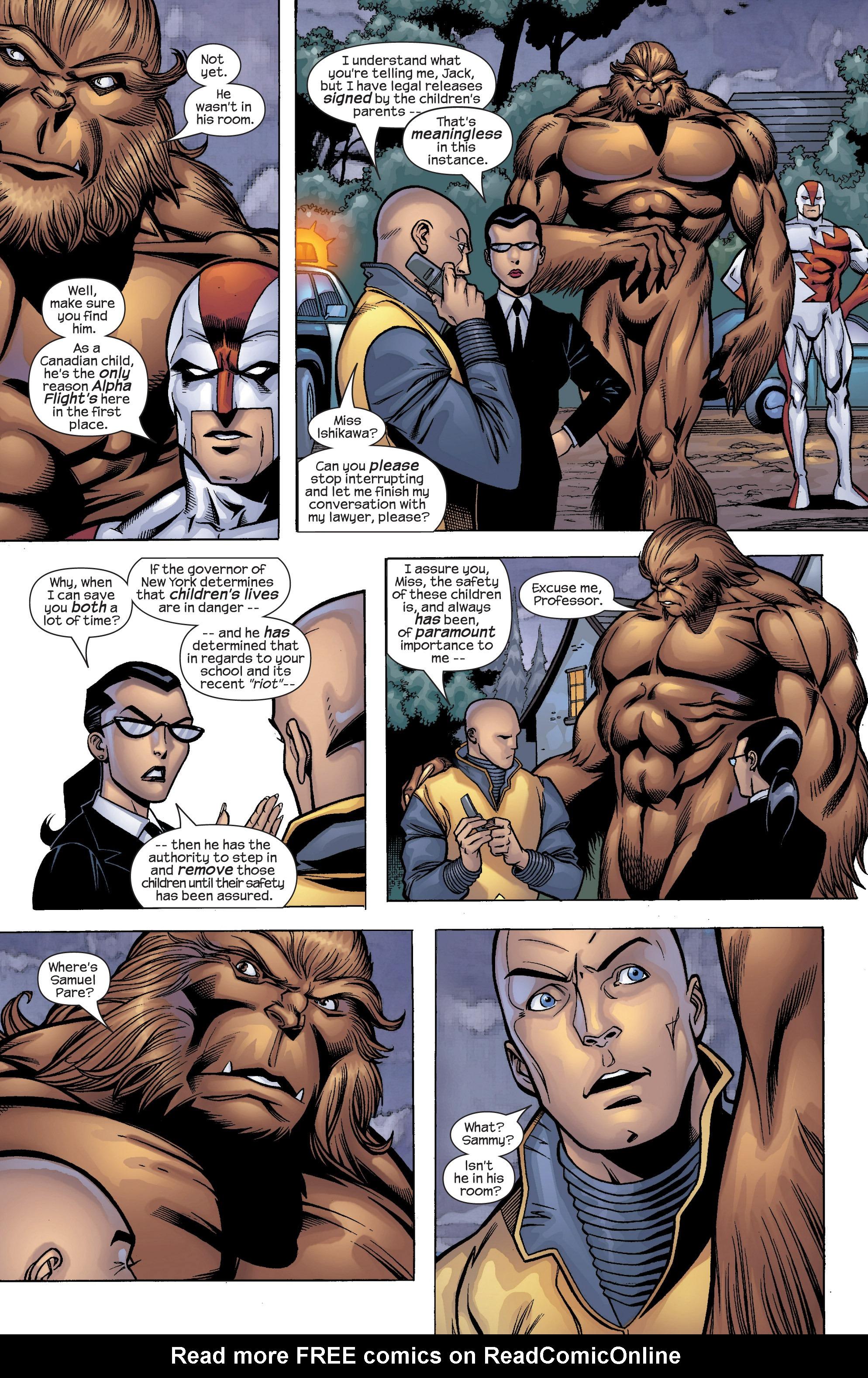 Read online Uncanny X-Men (1963) comic -  Issue #422 - 13