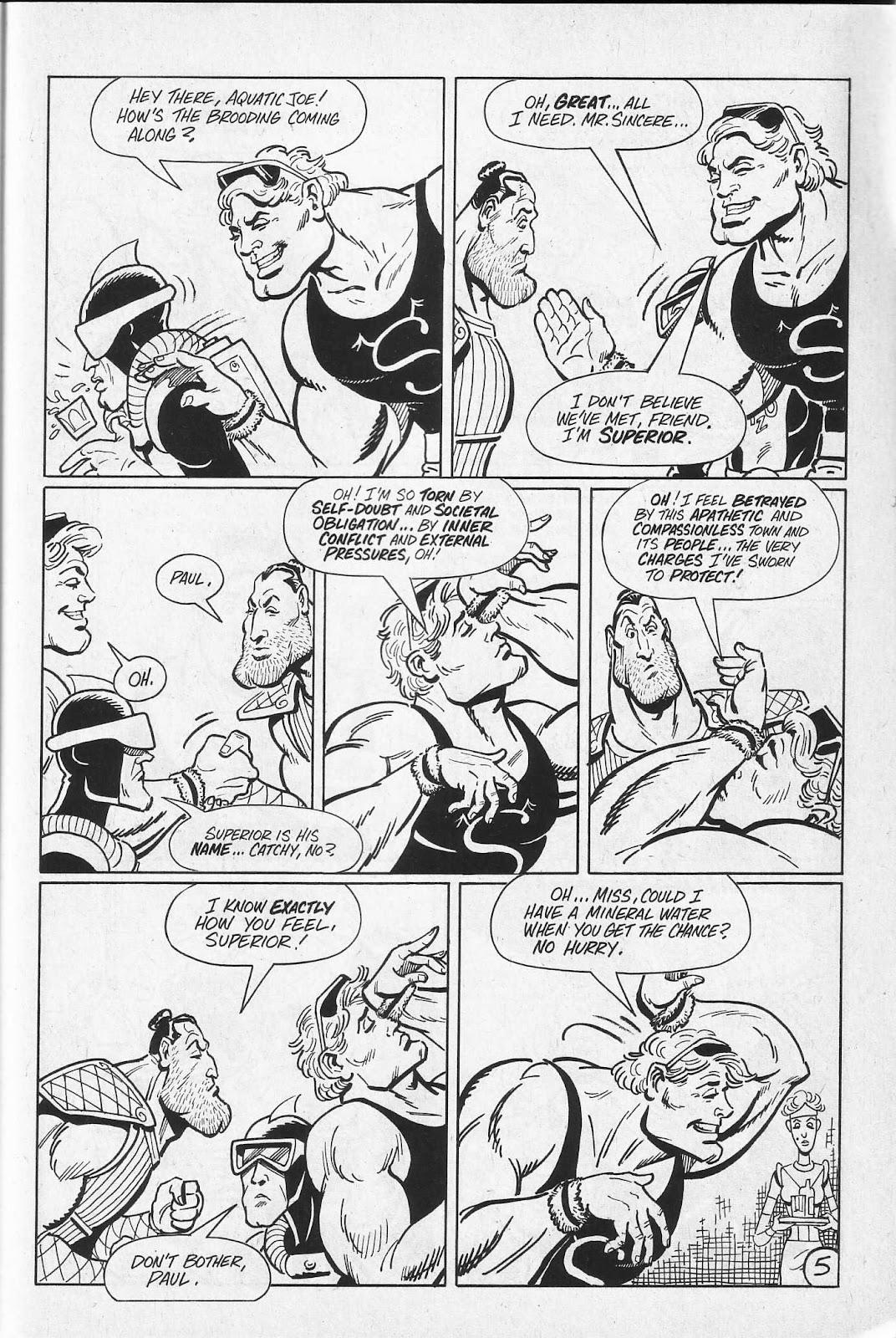 Read online Paul the Samurai (1991) comic -  Issue # TPB - 71