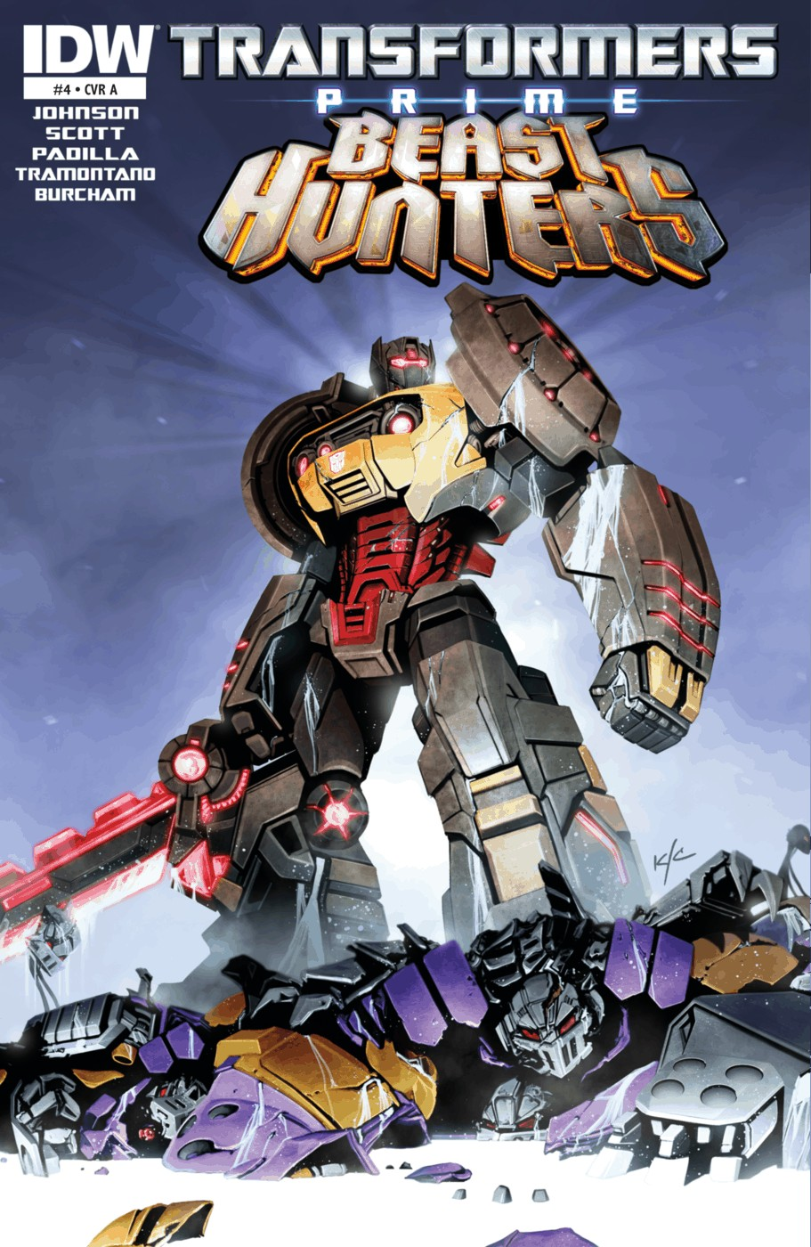 Read online Transformers Prime: Beast Hunters comic -  Issue #4 - 1