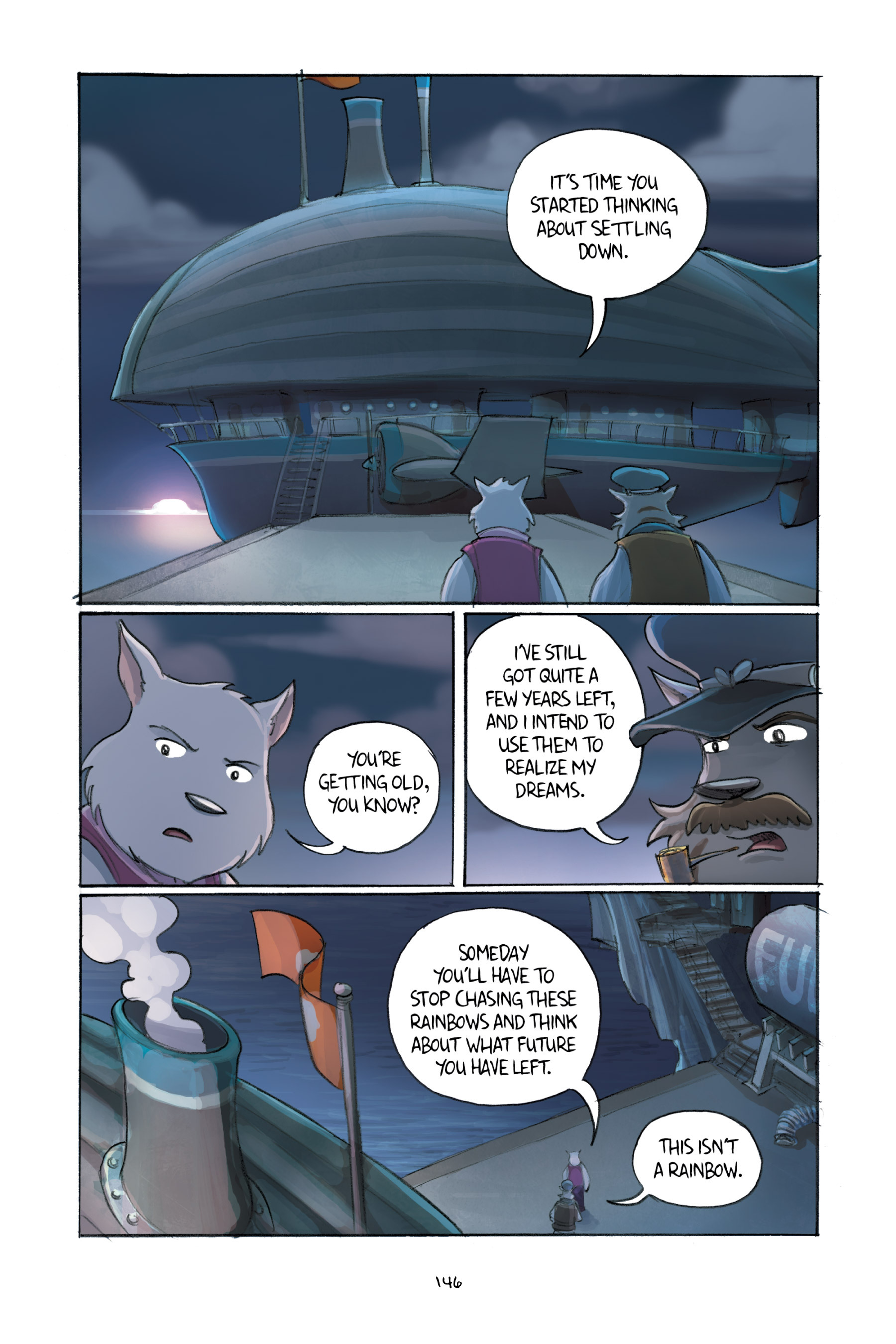 Read online Amulet comic -  Issue #3 - 143